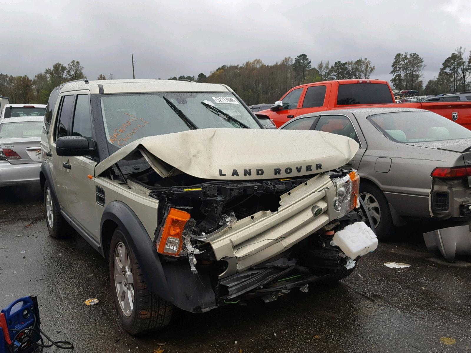 Salvage 2006 Land Rover LR3 SE for sale