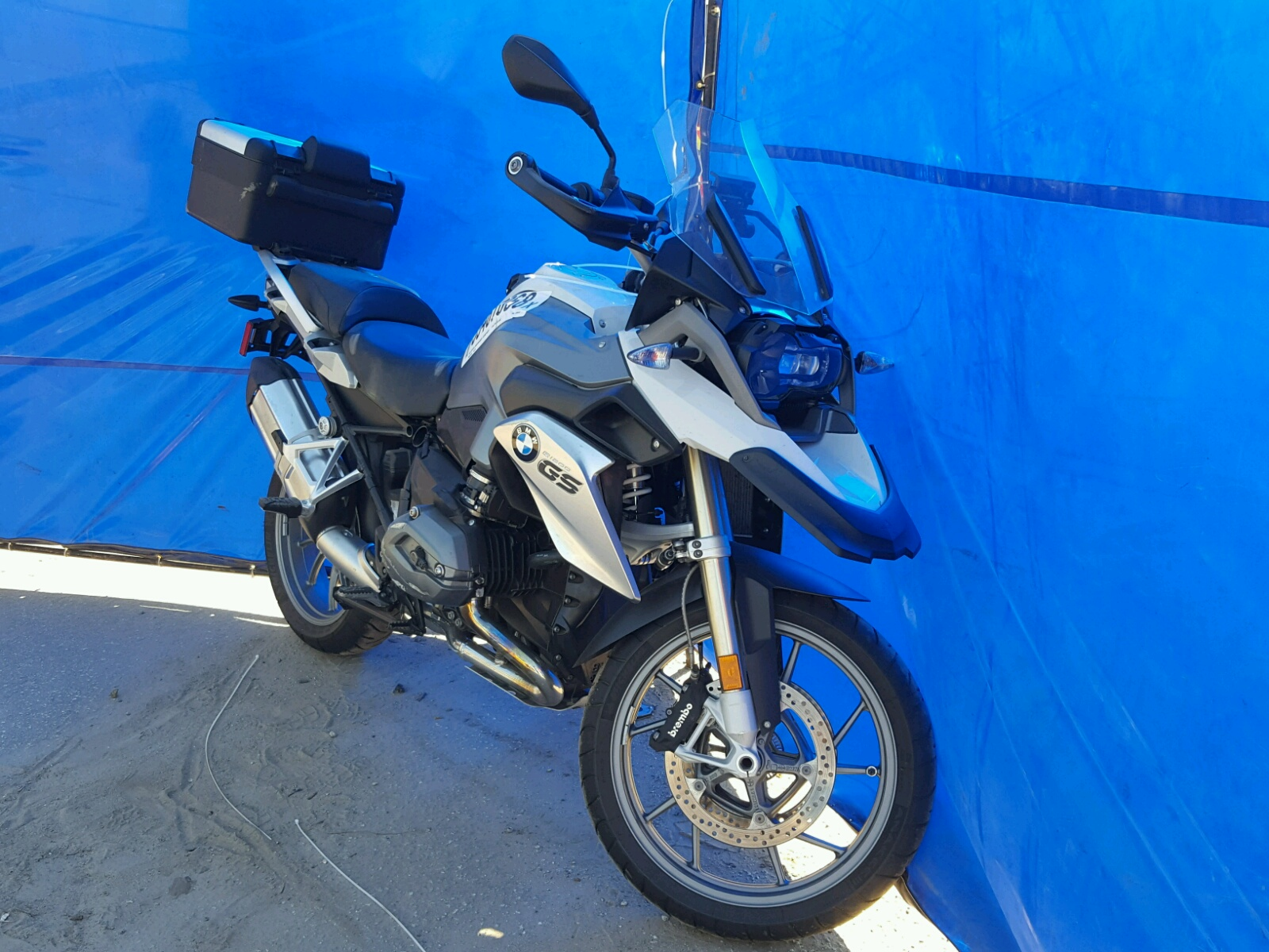 Salvage 2016 BMW R1200 GS for sale