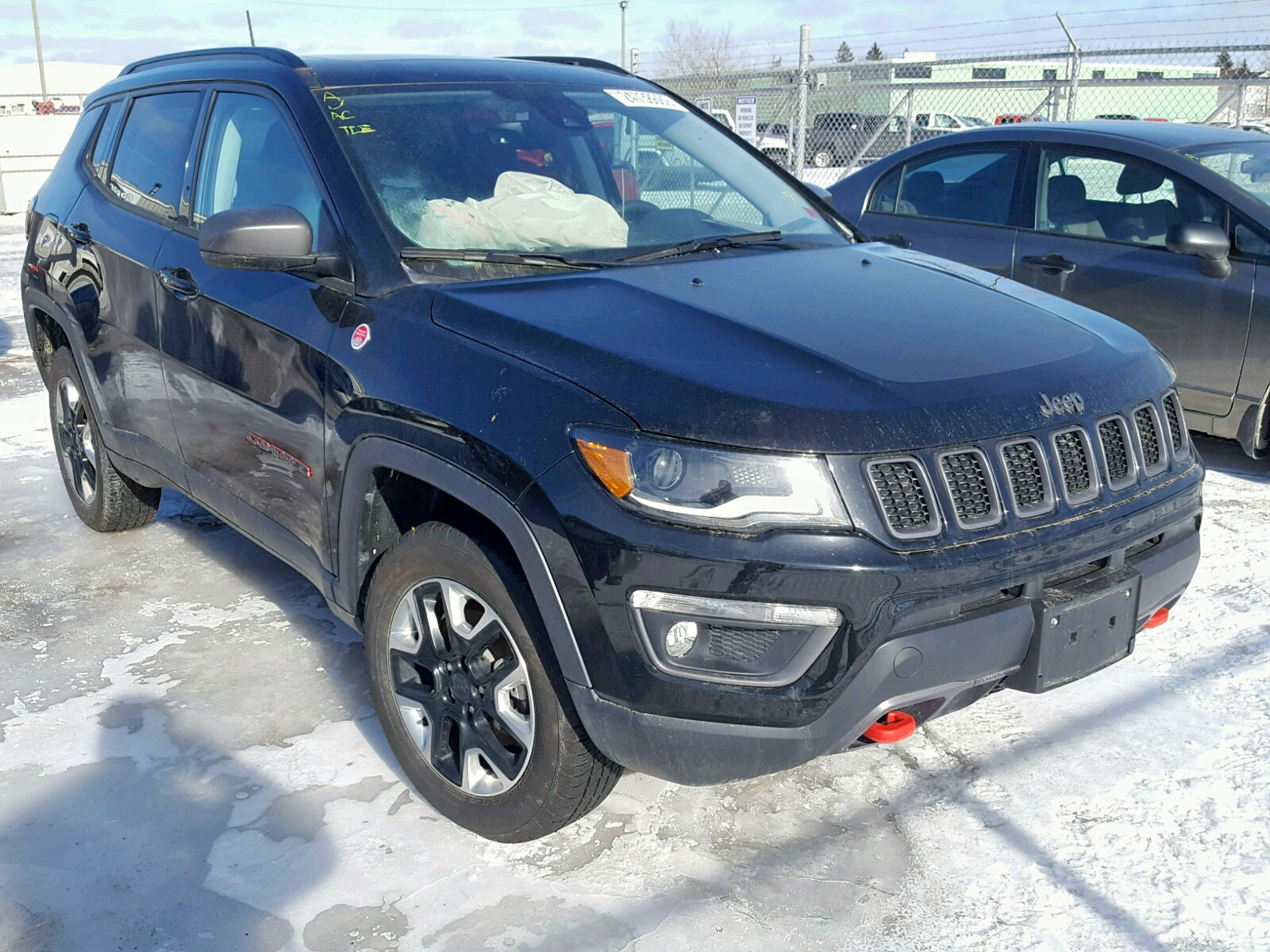 Salvage 2018 Jeep COMPASS TR for sale