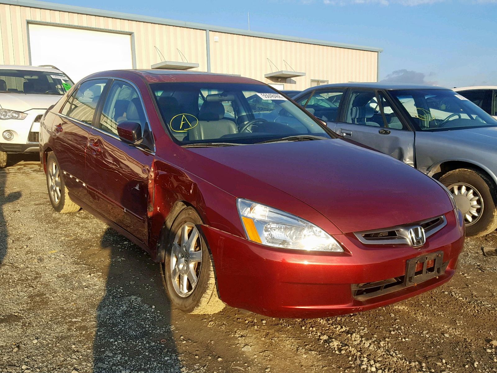 Salvage 2005 Honda ACCORD EX for sale