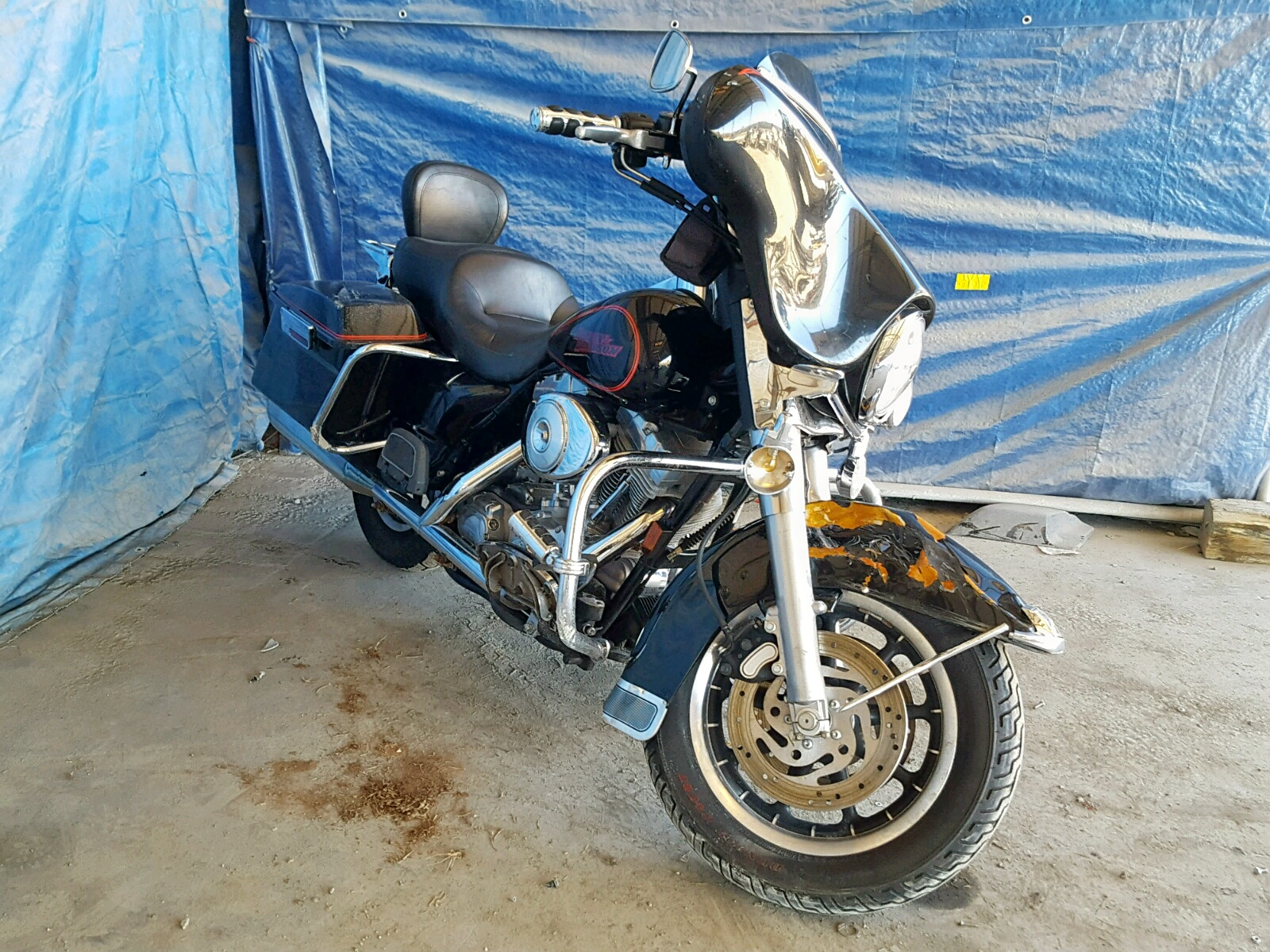 Salvage 2006 Harley-Davidson FLHT for sale