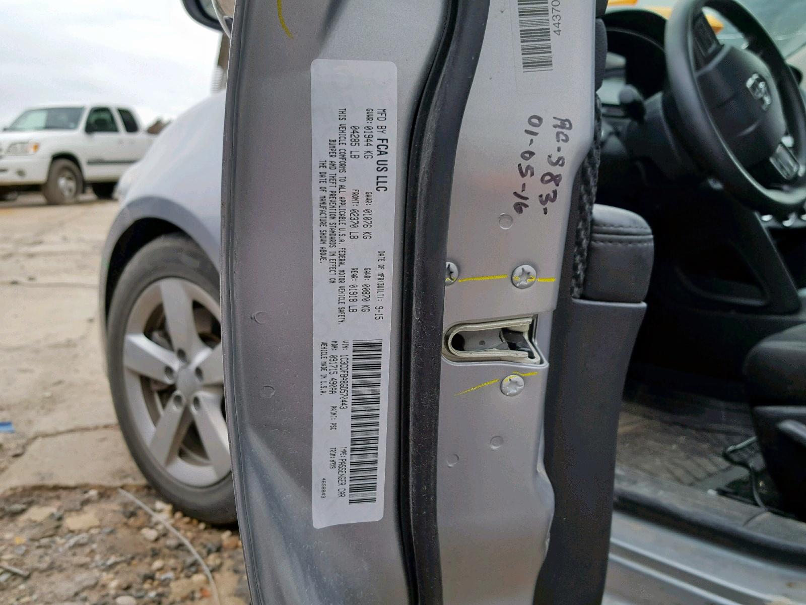 2016 Dodge Dart Sxt 2 0L 4 in TX - Corpus Christi