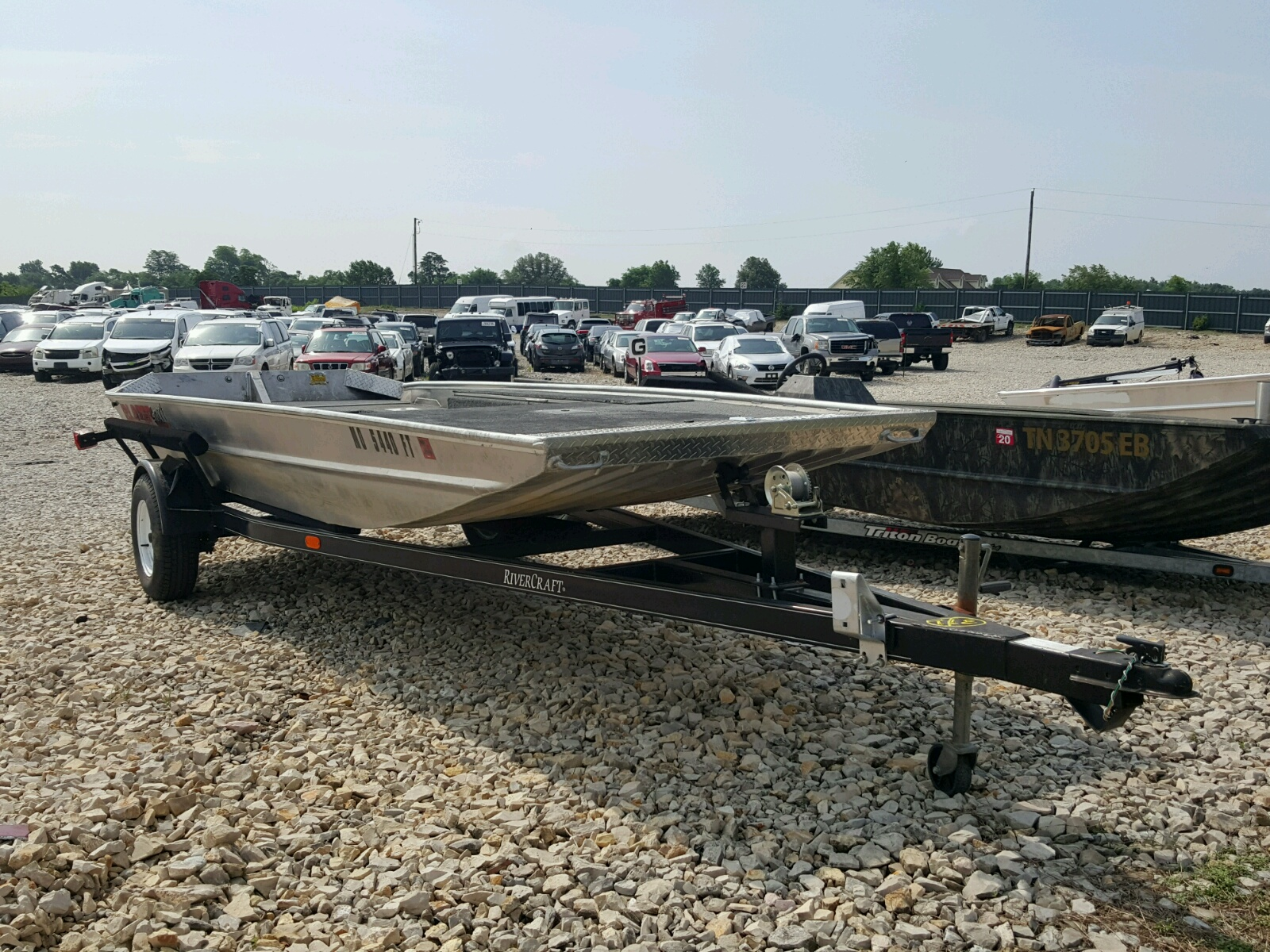 Salvage 2012 Blaze BOAT for sale