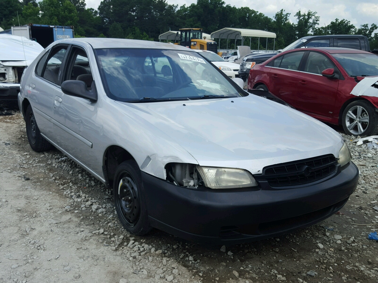 1n4dl01d8wc249623 1998 Silver Nissan Altima Xe On Sale In Ga Gxe 24l Left View