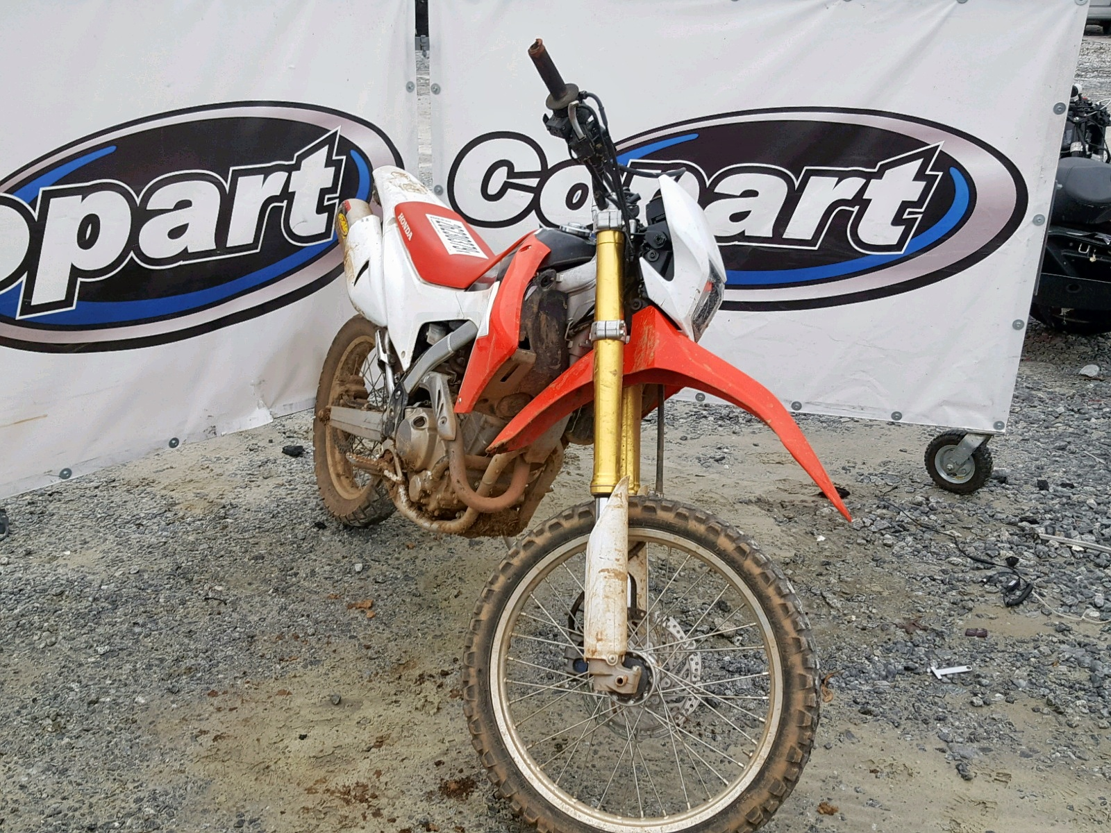 Salvage 2014 Honda CRF250 L for sale