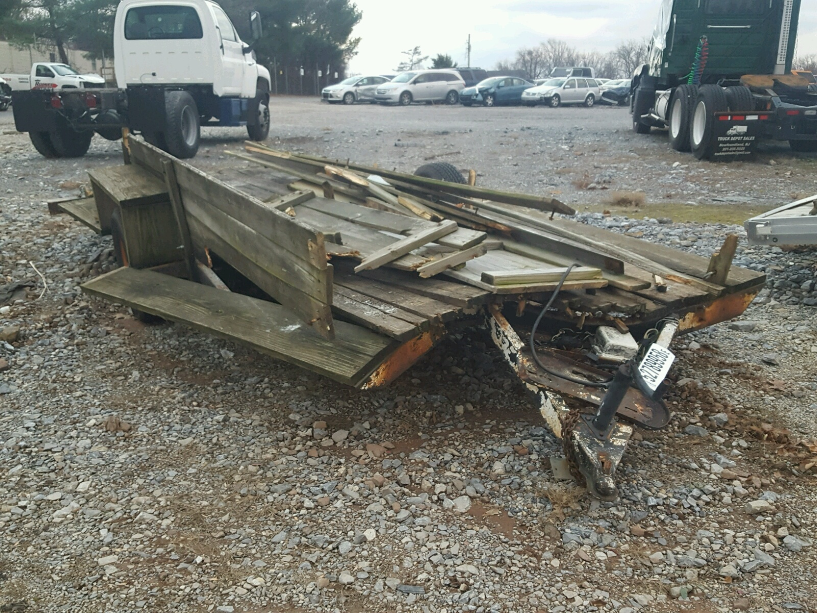 Salvage 1977 Nomad UTILITY TRAILER for sale