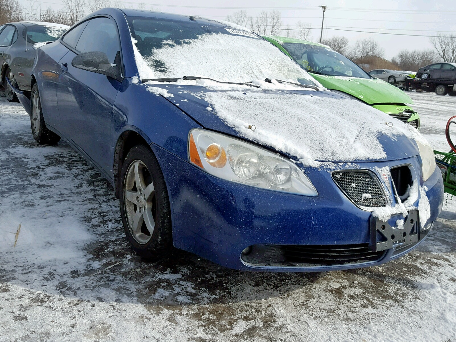 Salvage 2007 Pontiac G6 GT for sale