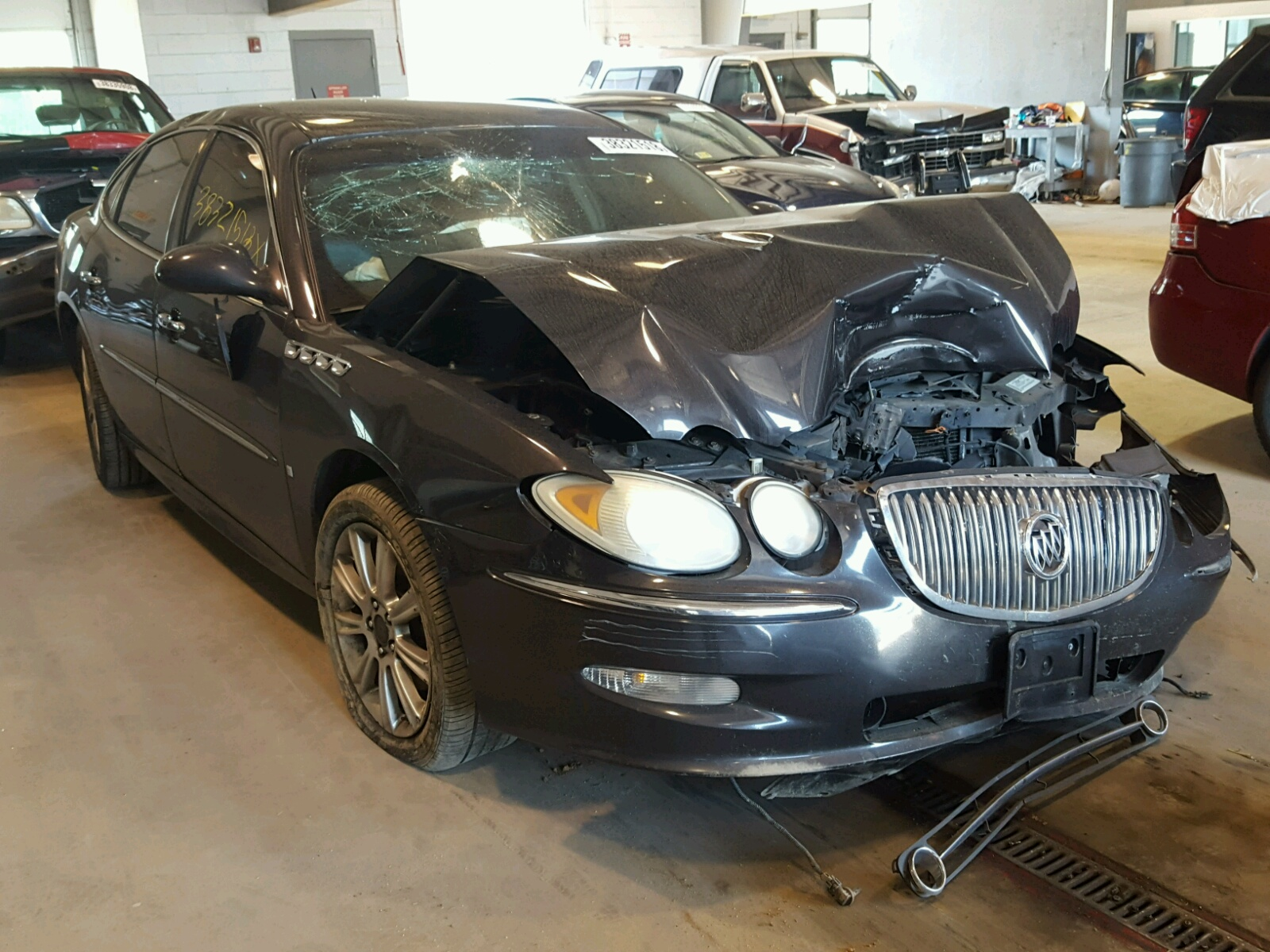 Salvage 2008 Buick LACROSSE S for sale