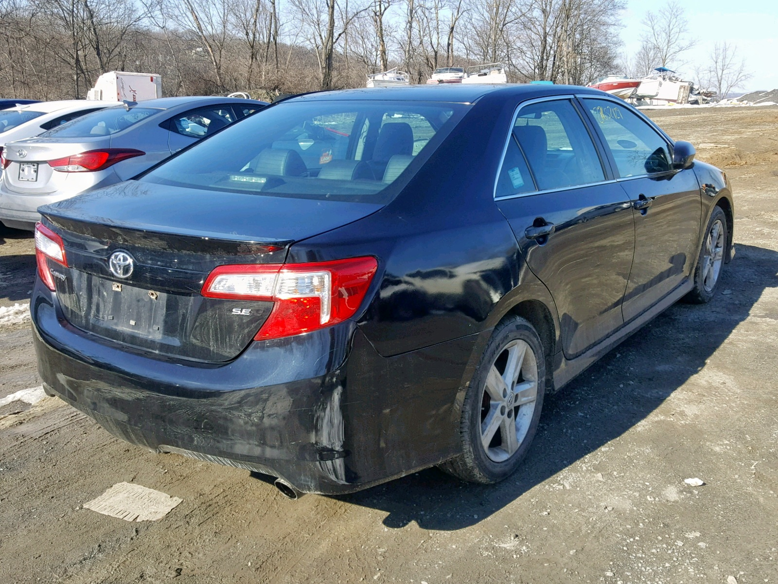2014 Toyota Camry L 2.5L rear view