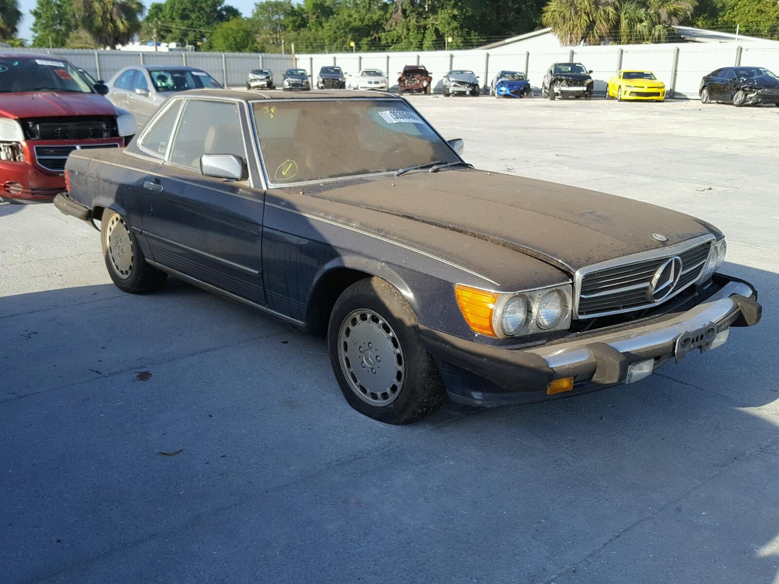 1988 MERCEDES-BENZ 560 SL 5.6L