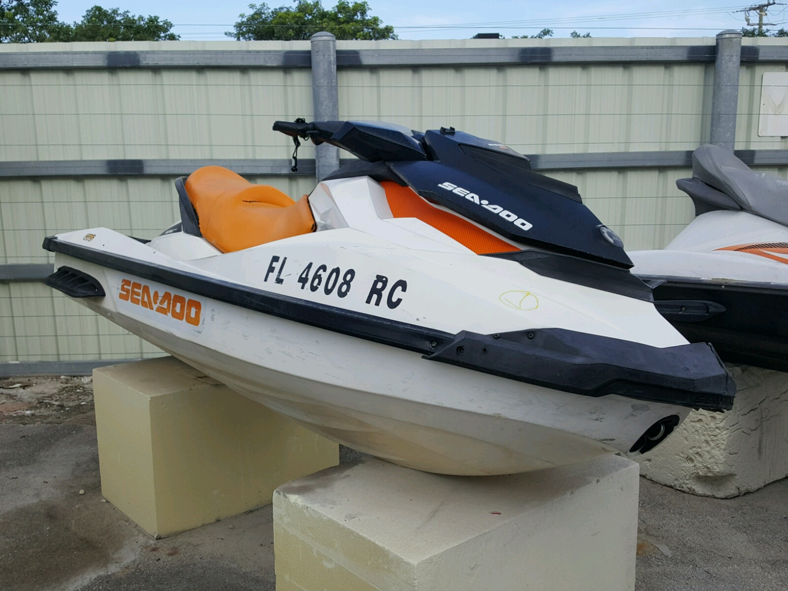 Salvage 2016 Seadoo GT1 130 for sale