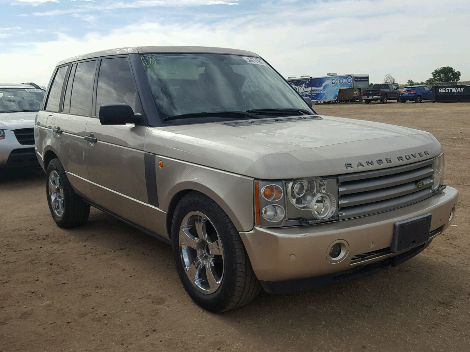 2003 Land Rover Range Rover for sale at Copart Colorado Springs CO