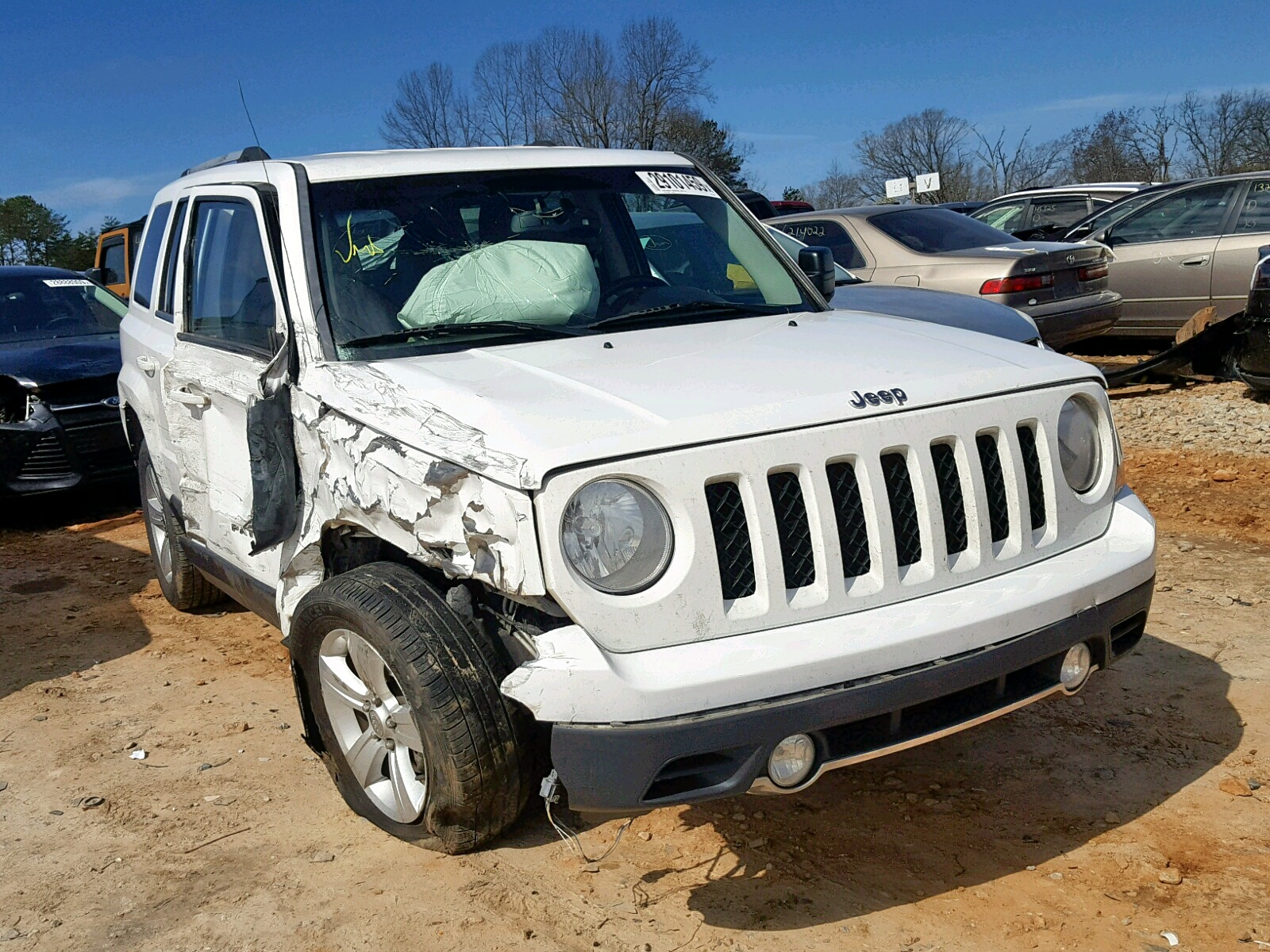 Salvage 2013 Jeep PATRIOT LI for sale
