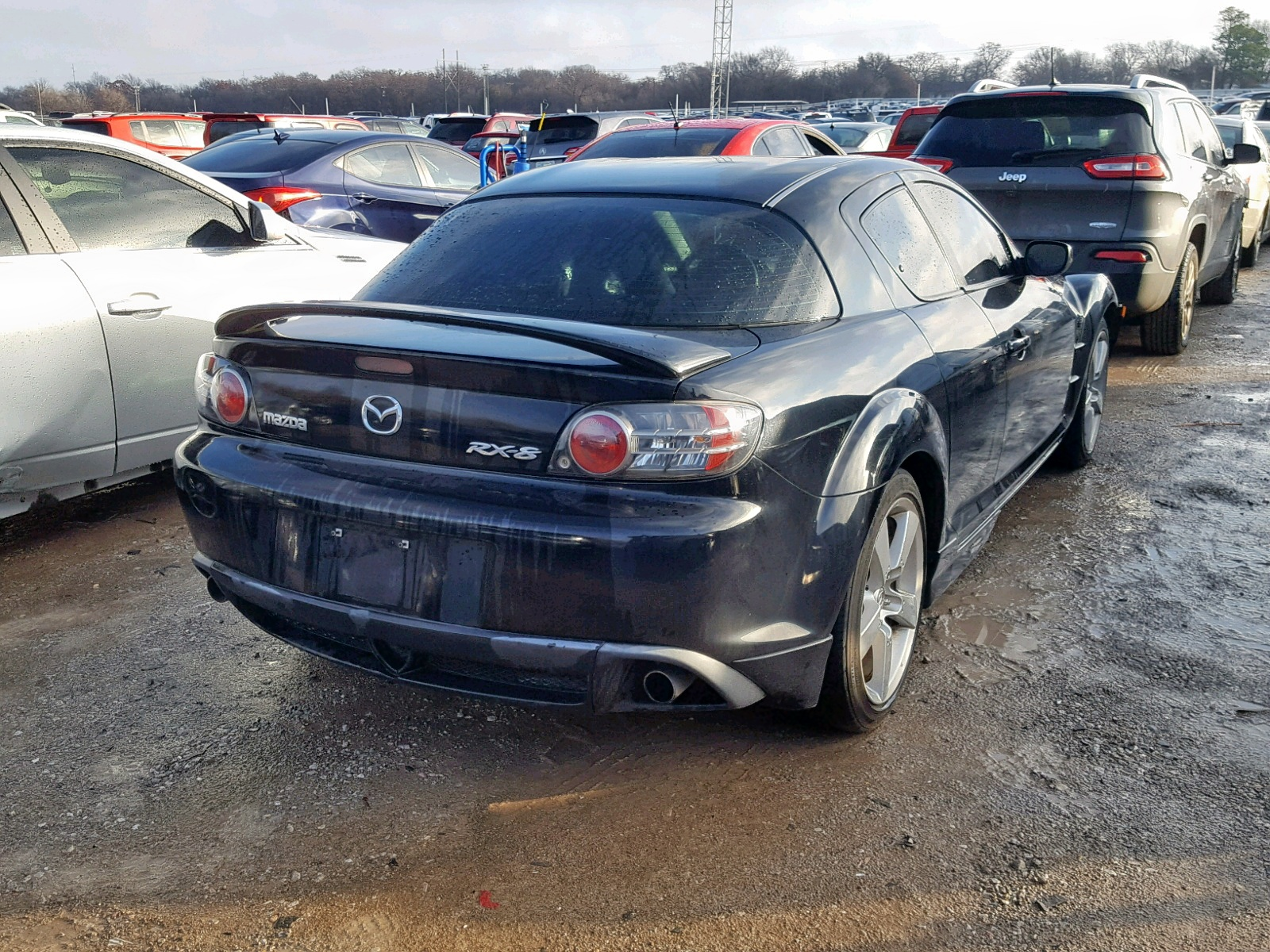 2007 mazda rx8 for sale at copart oklahoma city, ok lot# 56699558
