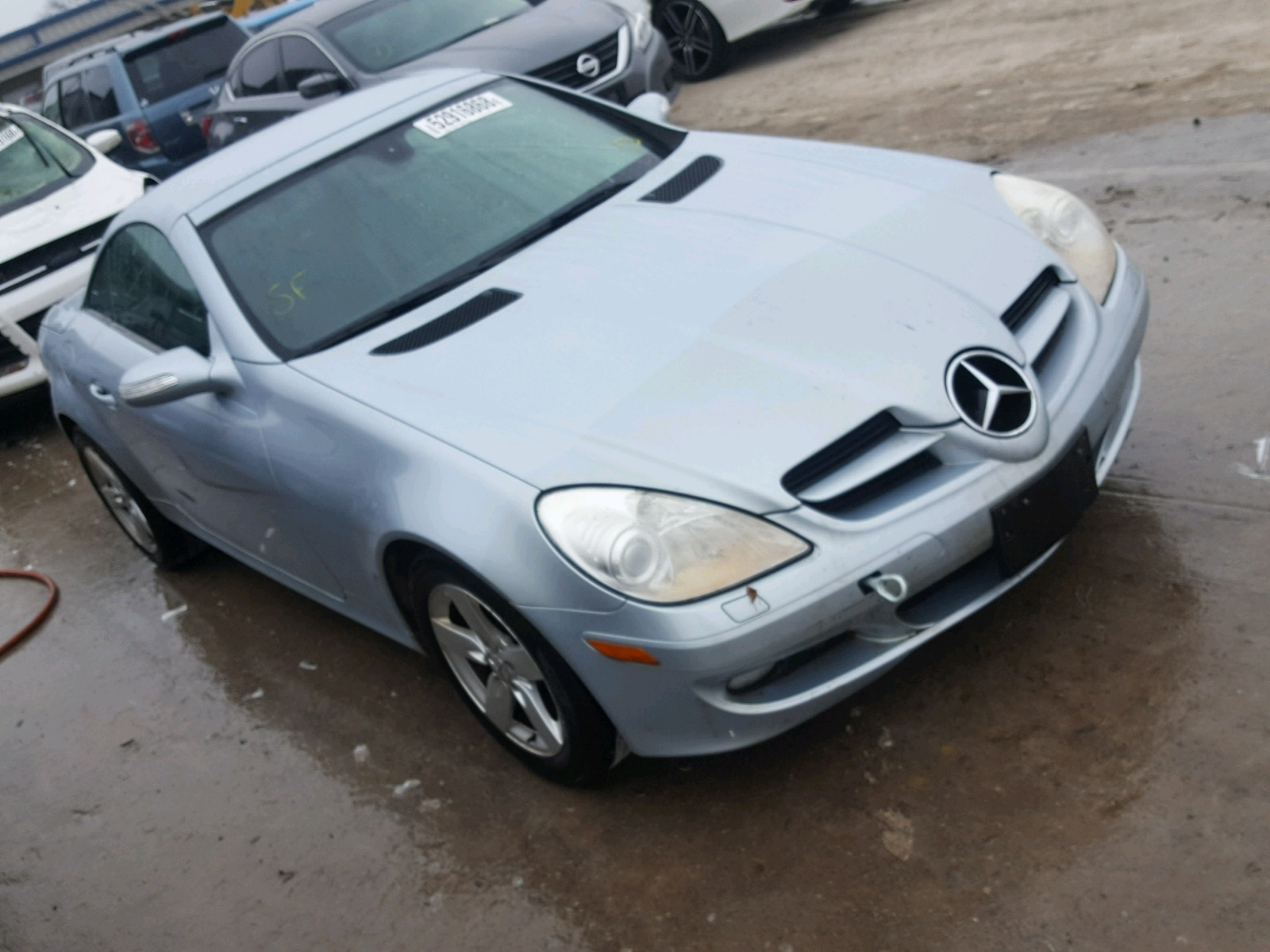 2008 Mercedes Benz CLK 350 for sale at Copart Las Vegas NV Lot