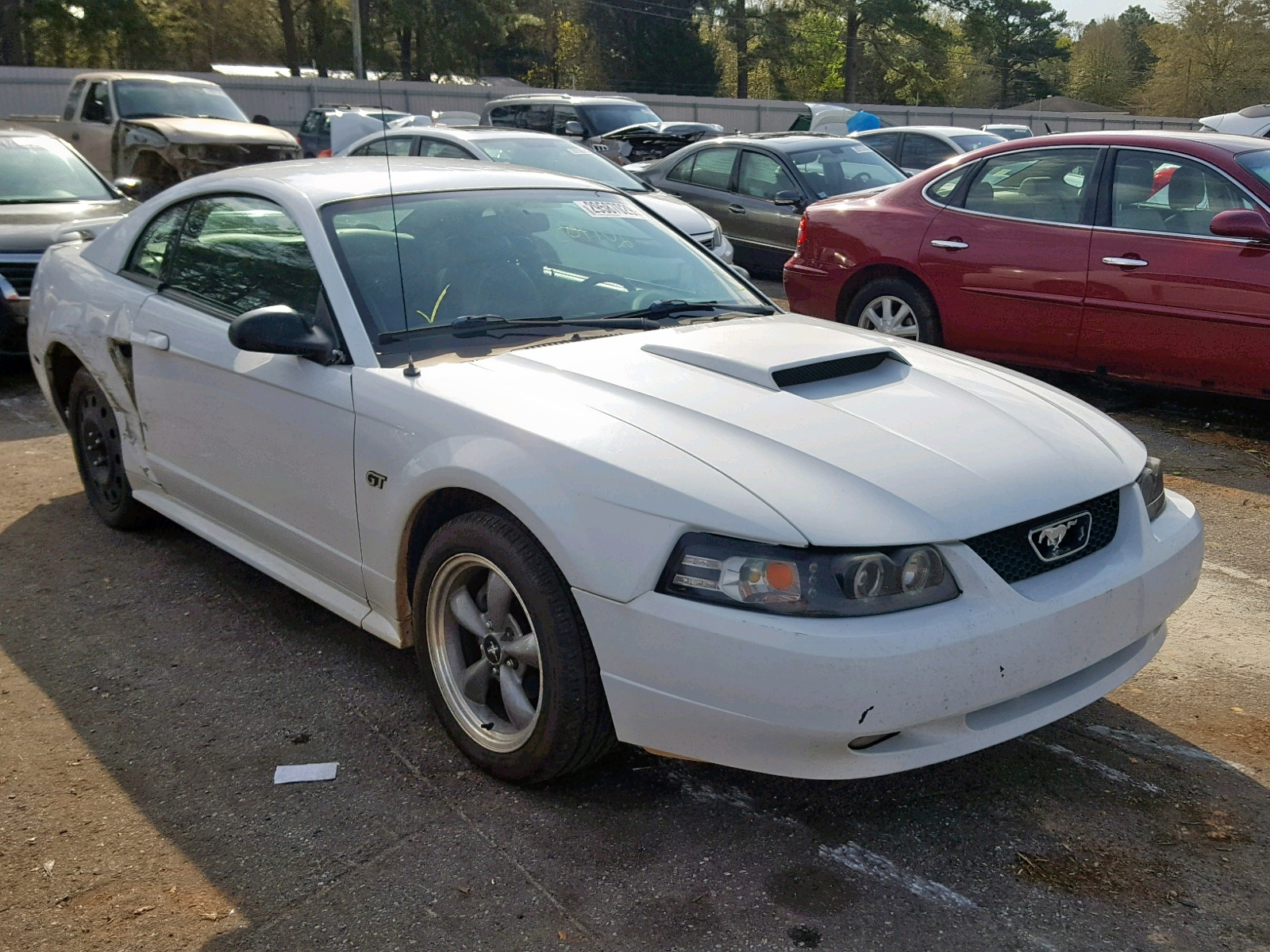 2002 ford mustang gt 4 6l 8 in al mobile 1fafp42xx2f126329