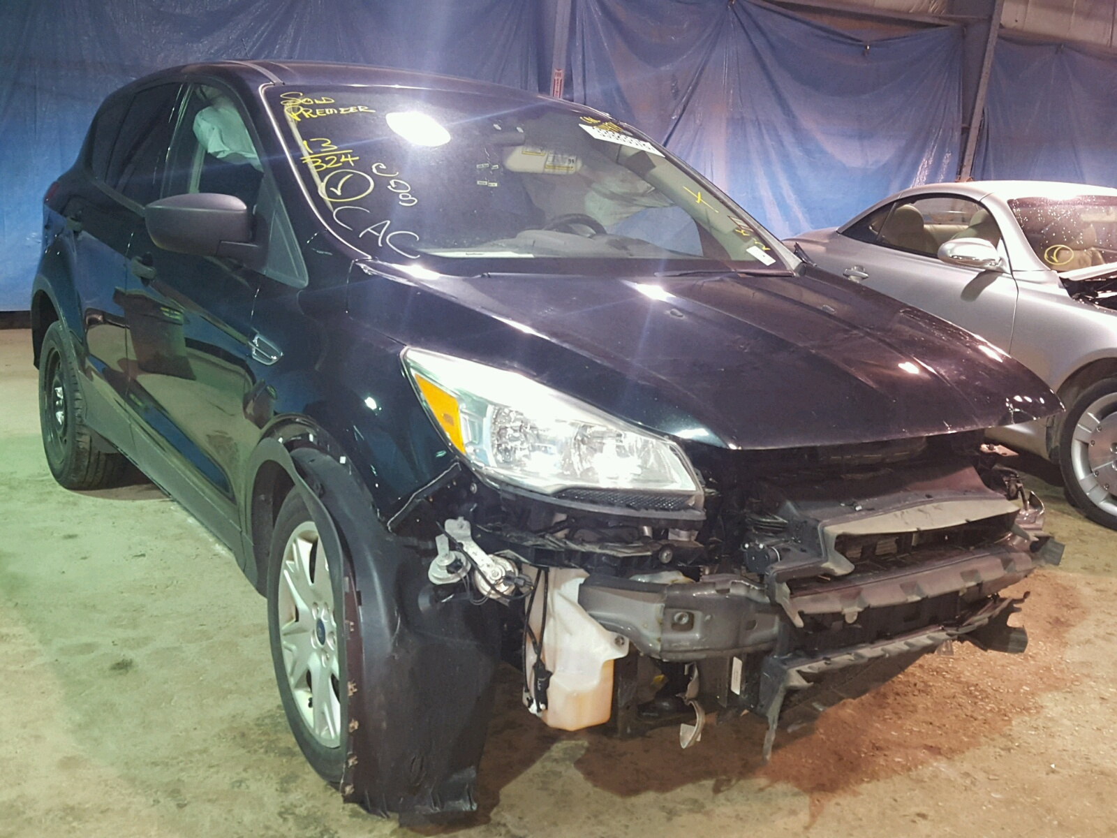 1fmcu0f78dua20528 2013 ford escape s 2 5l left view 1fmcu0f78dua20528