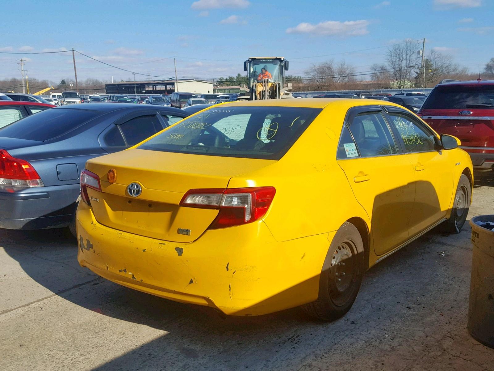 2012 Toyota Camry Hybr 2.5L rear view