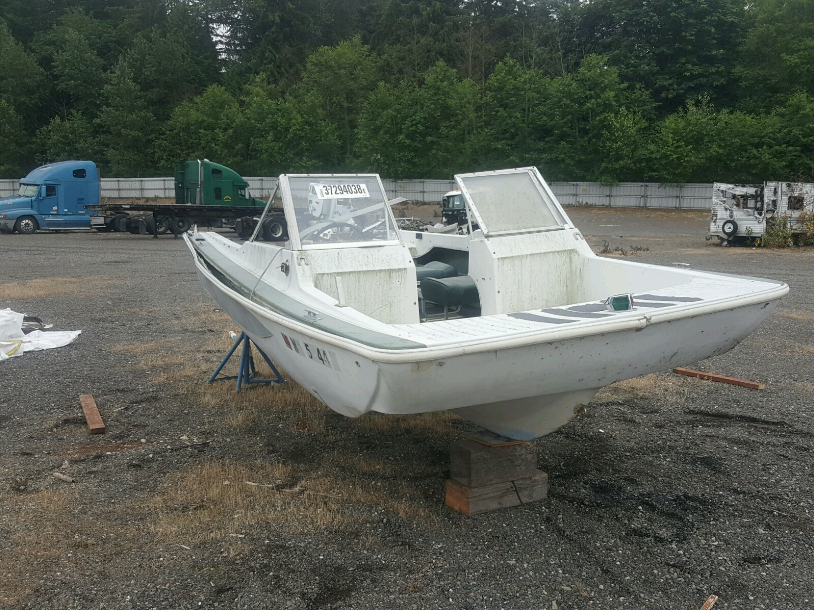 Salvage 1969 Glastron BOAT for sale