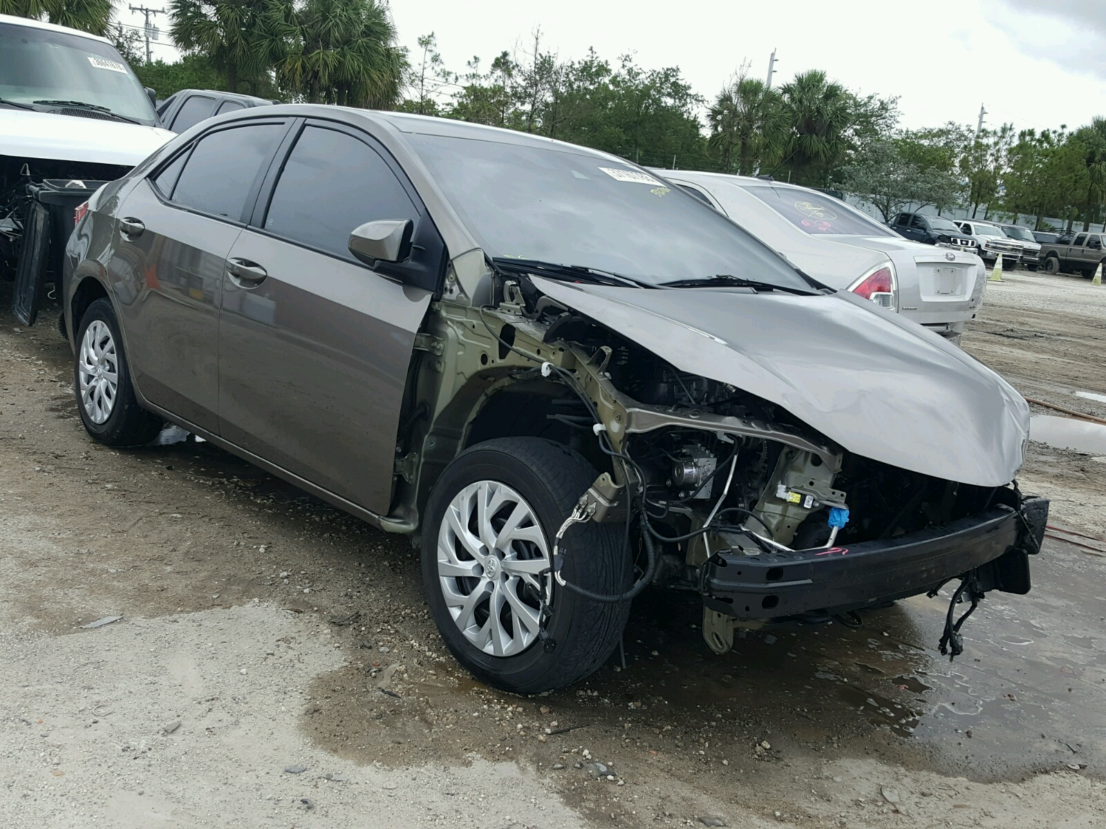 2017 Toyota Corolla L for sale at Copart West Palm Beach FL Lot