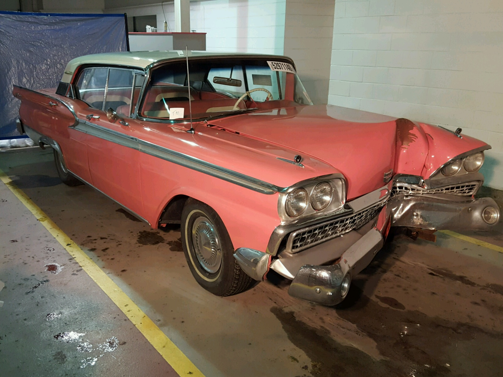 Salvage 1959 Ford GALAXIE for sale