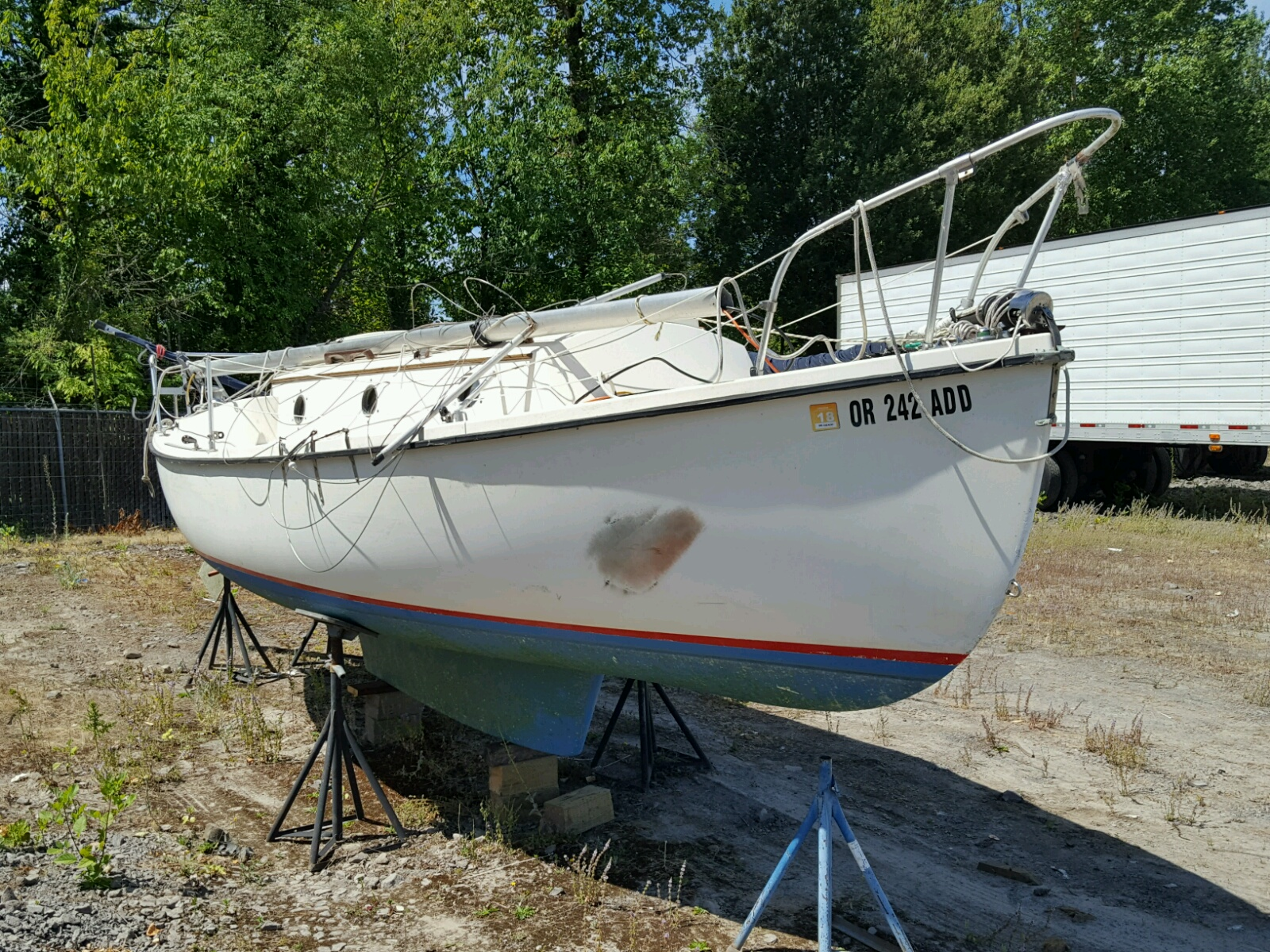 Salvage 1980 Companion MARINE LOT for sale