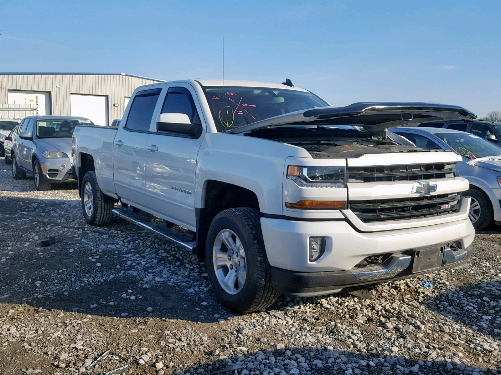Salvage 2016 Chevrolet SILVERADO for sale