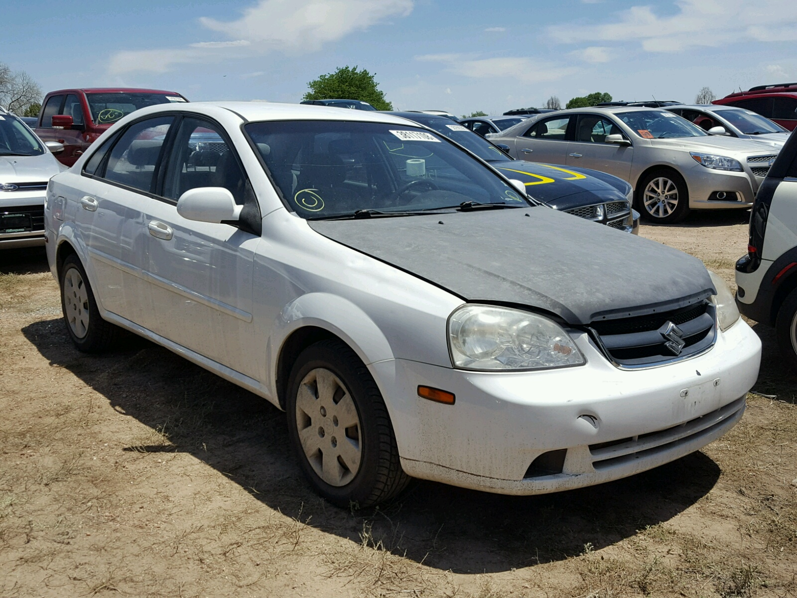 Salvage 2008 Suzuki FORENZA BA for sale