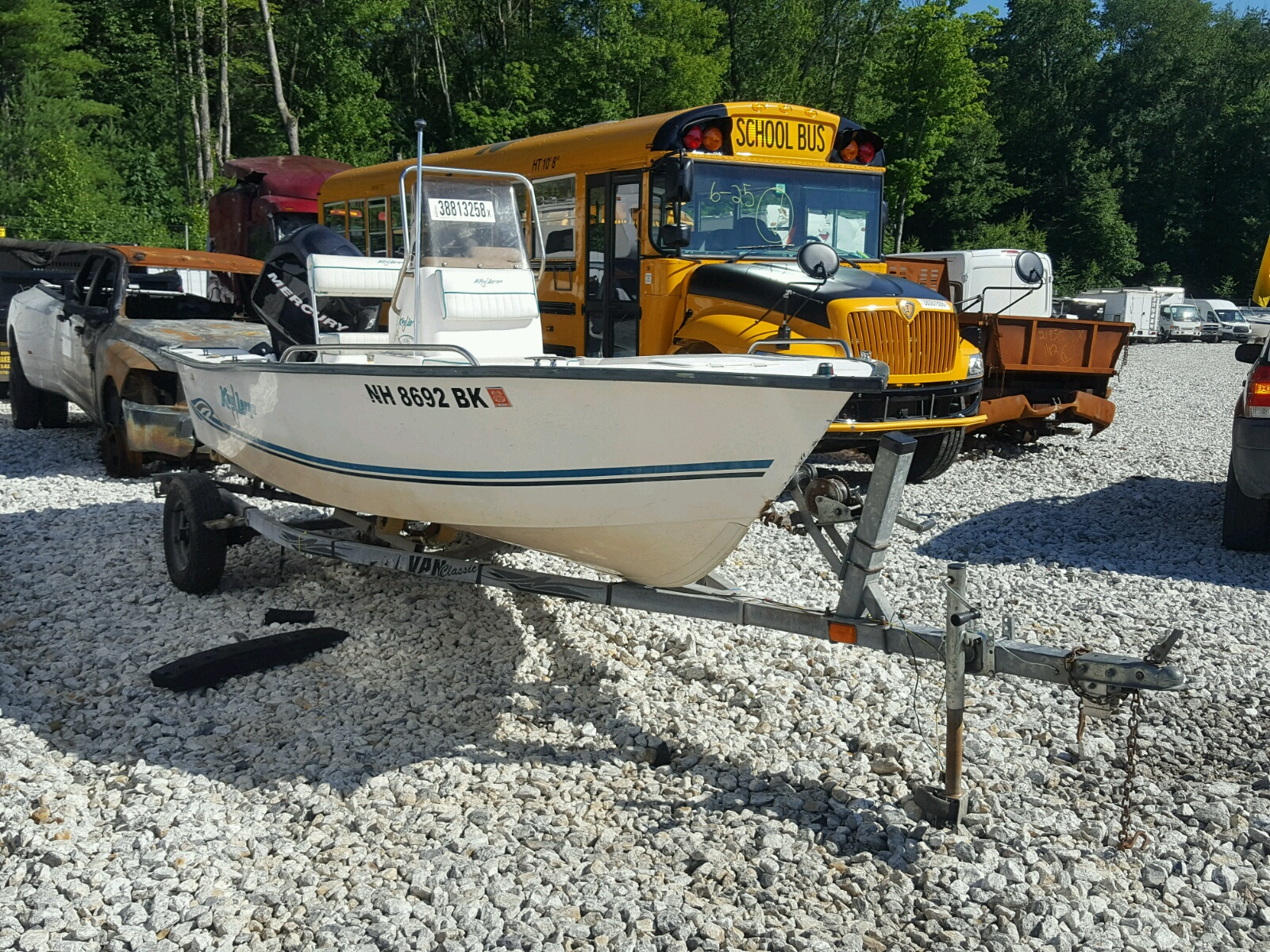 Salvage 2003 Keyl BOAT for sale