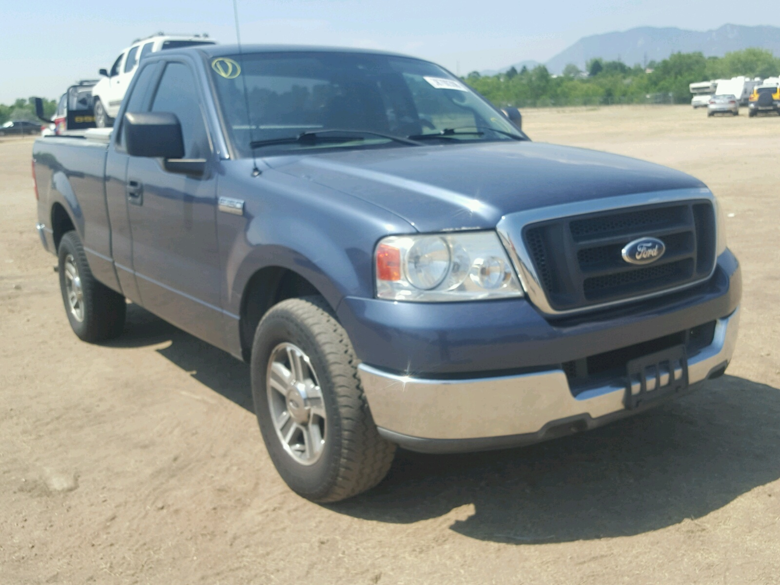 Salvage 2004 Ford F150 Truck For Sale F 150 Custom
