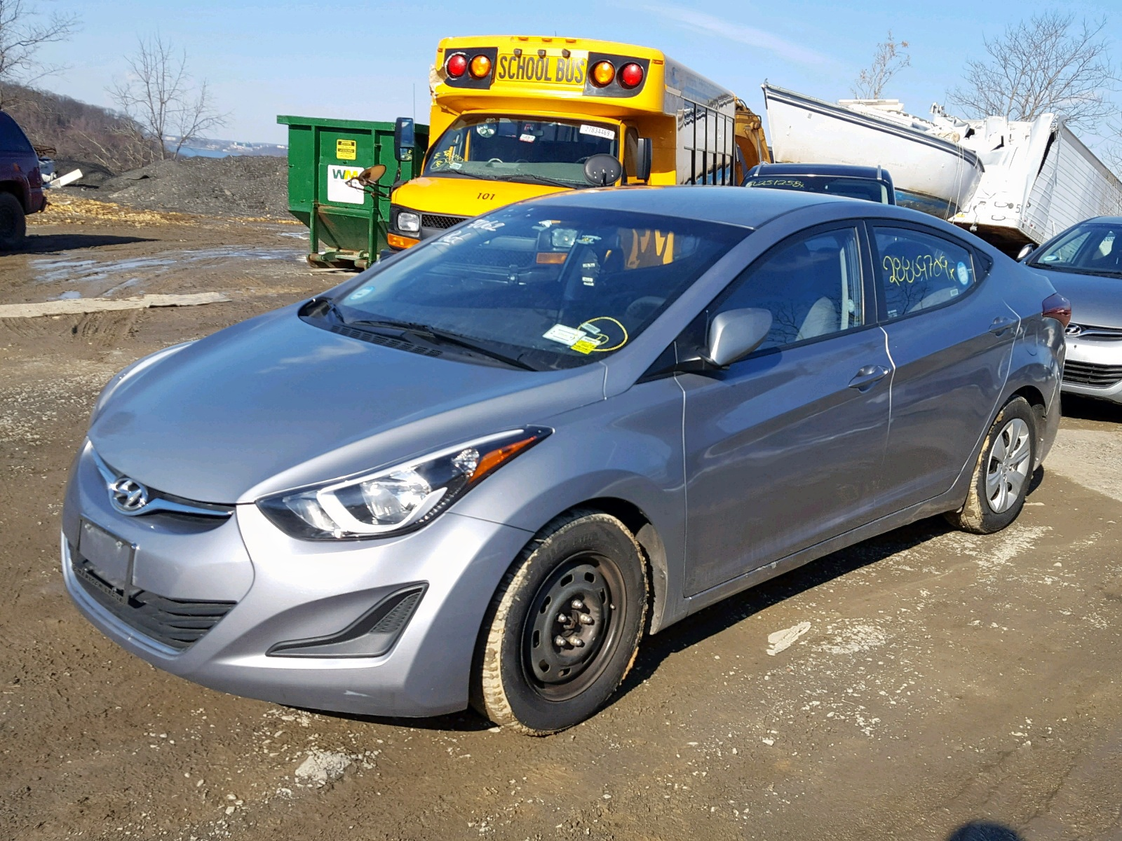 2016 Hyundai Elantra Se 1.8L Right View