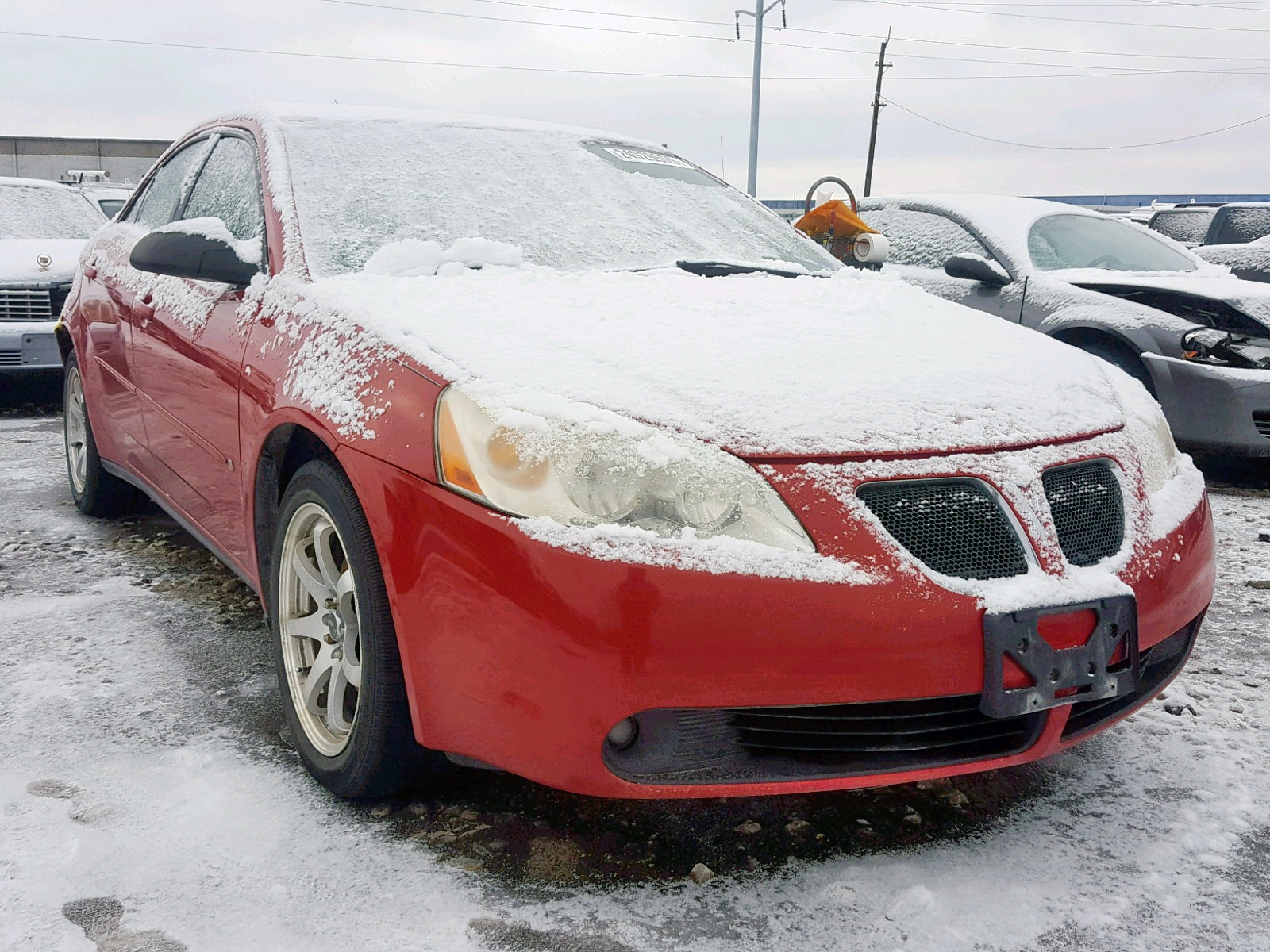 Salvage 2007 Pontiac G6 BASE for sale