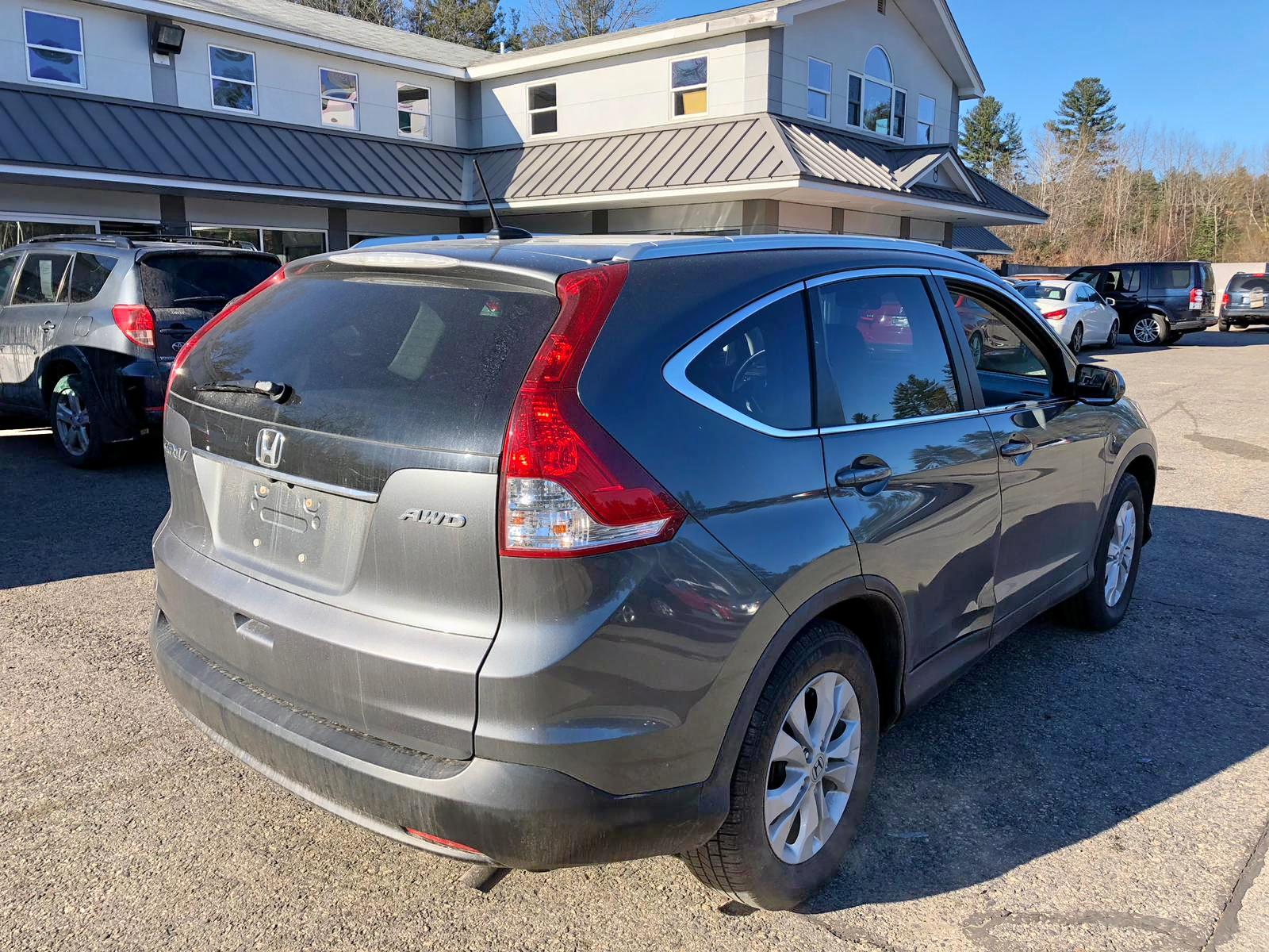 2HKRM4H73CH626699 - 2012 Honda Cr-V Exl 2.4L rear view