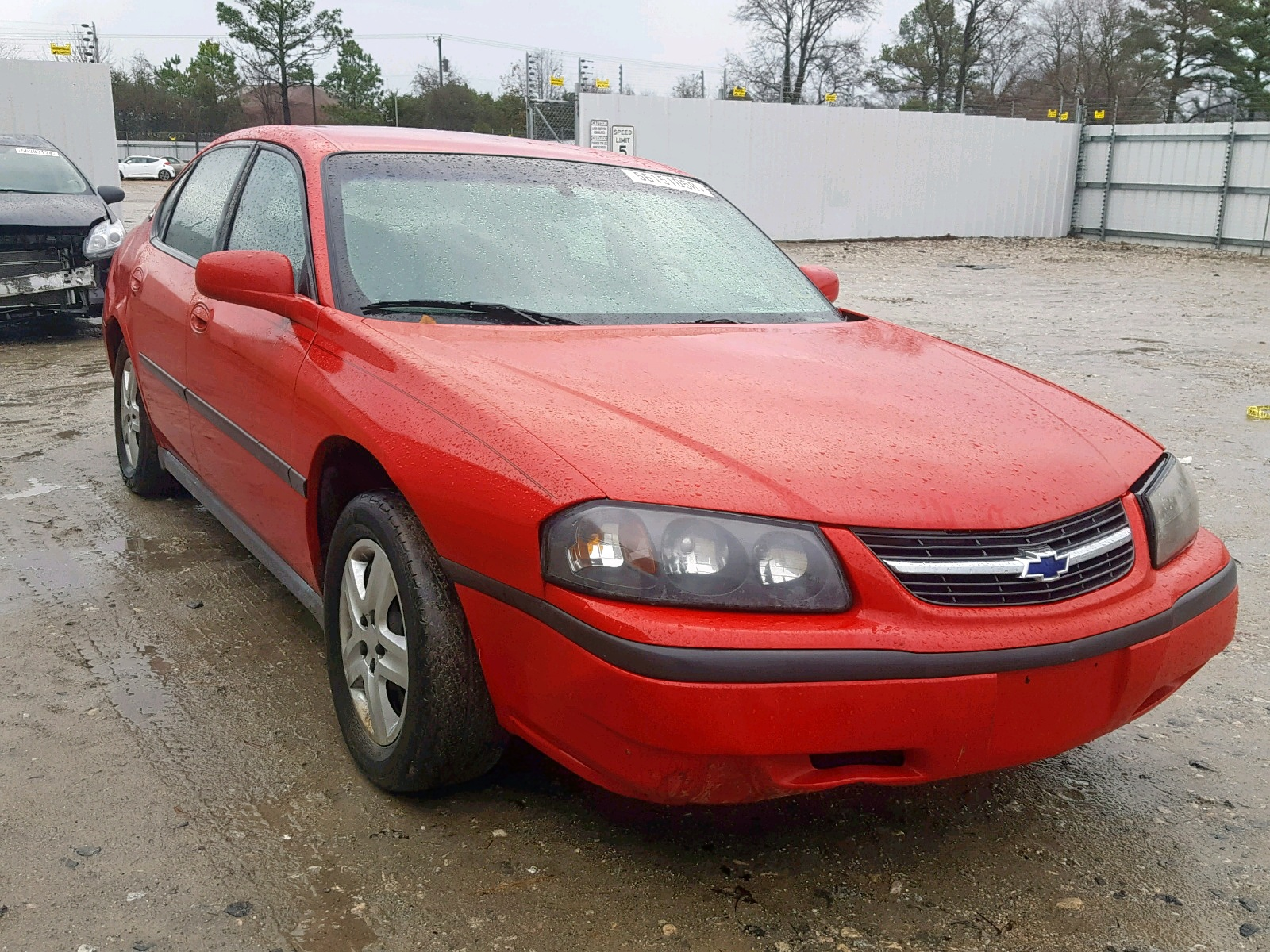 Salvage 2002 Chevrolet IMPALA for sale