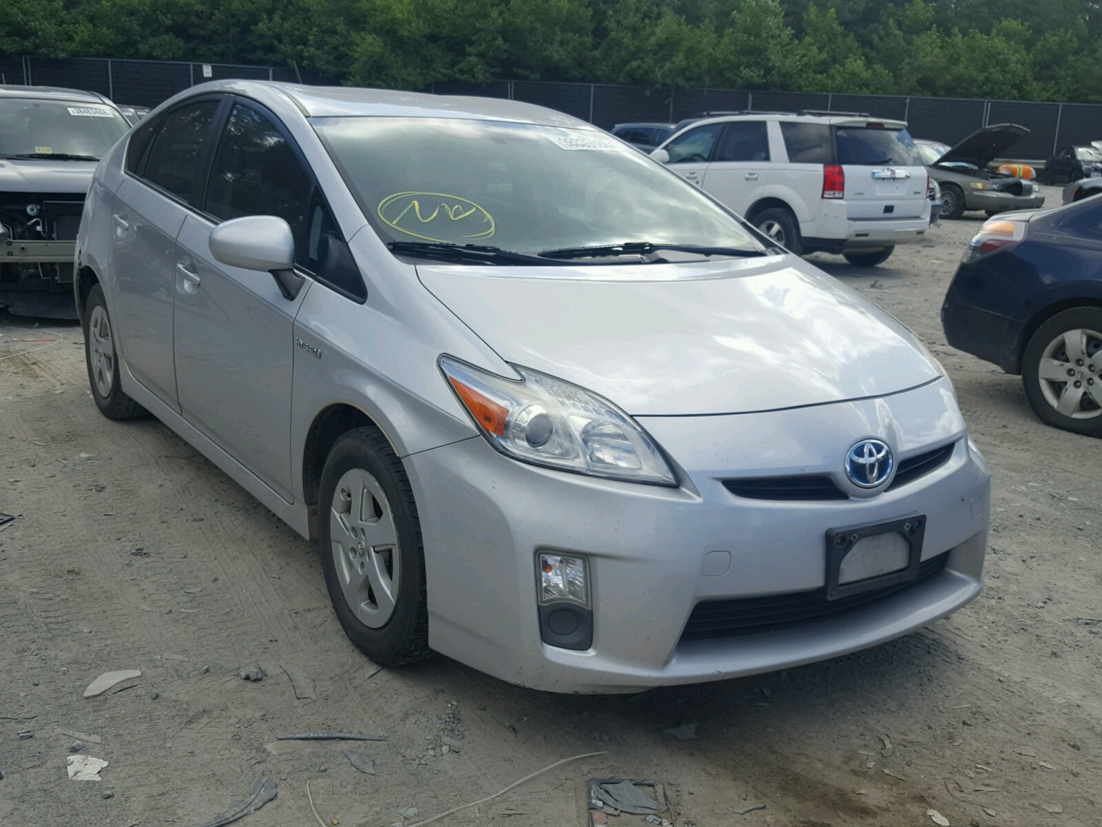 2011 Toyota Prius for sale at Copart Waldorf MD Lot