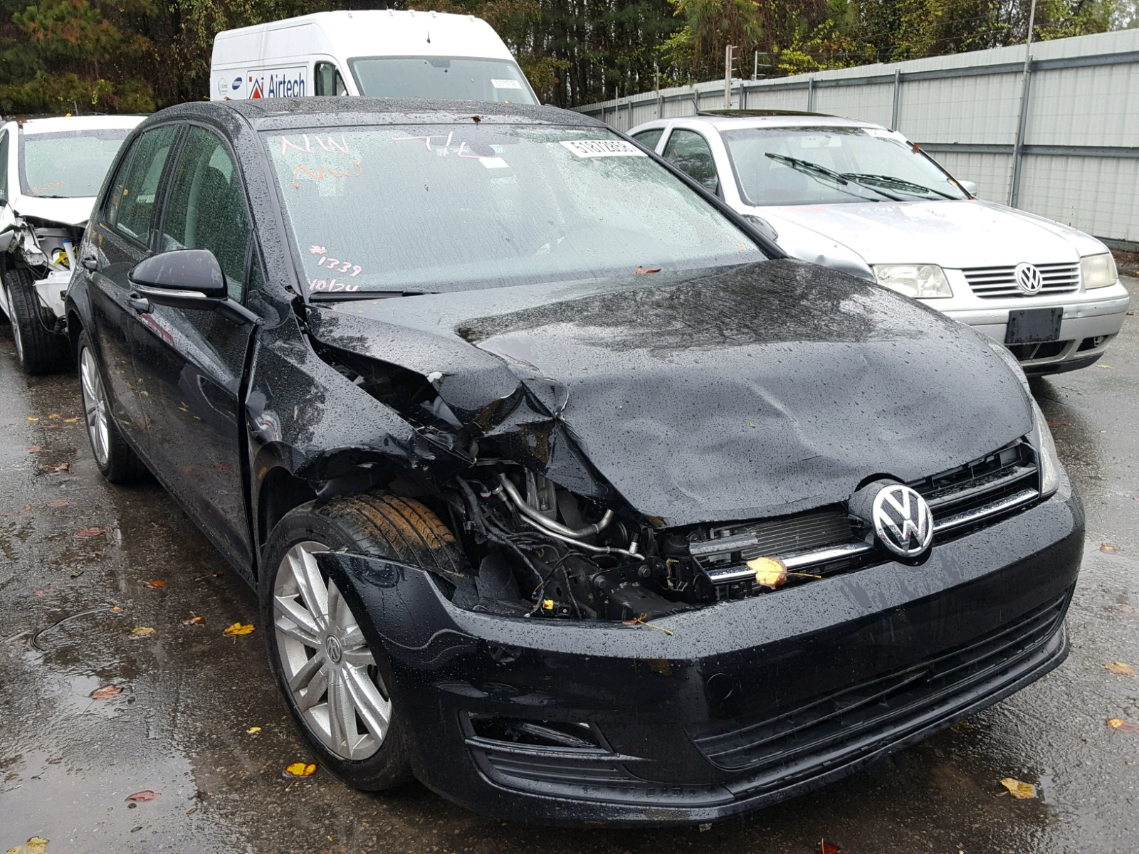 Salvage 2016 Volkswagen GOLF S/SE for sale