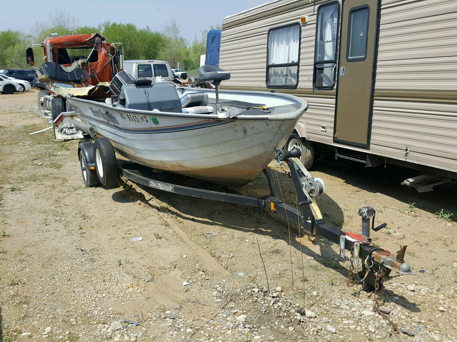 Salvage 1993 Seadoo SS17 for sale