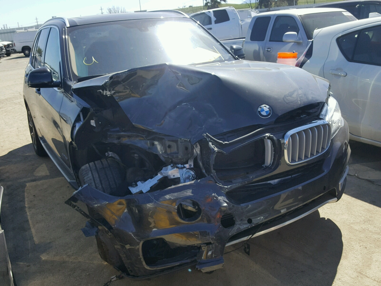 Auto Auction Ended On VIN 5UXKR0C5XG0S89502 2016 Bmw X5 Xdrive3 In