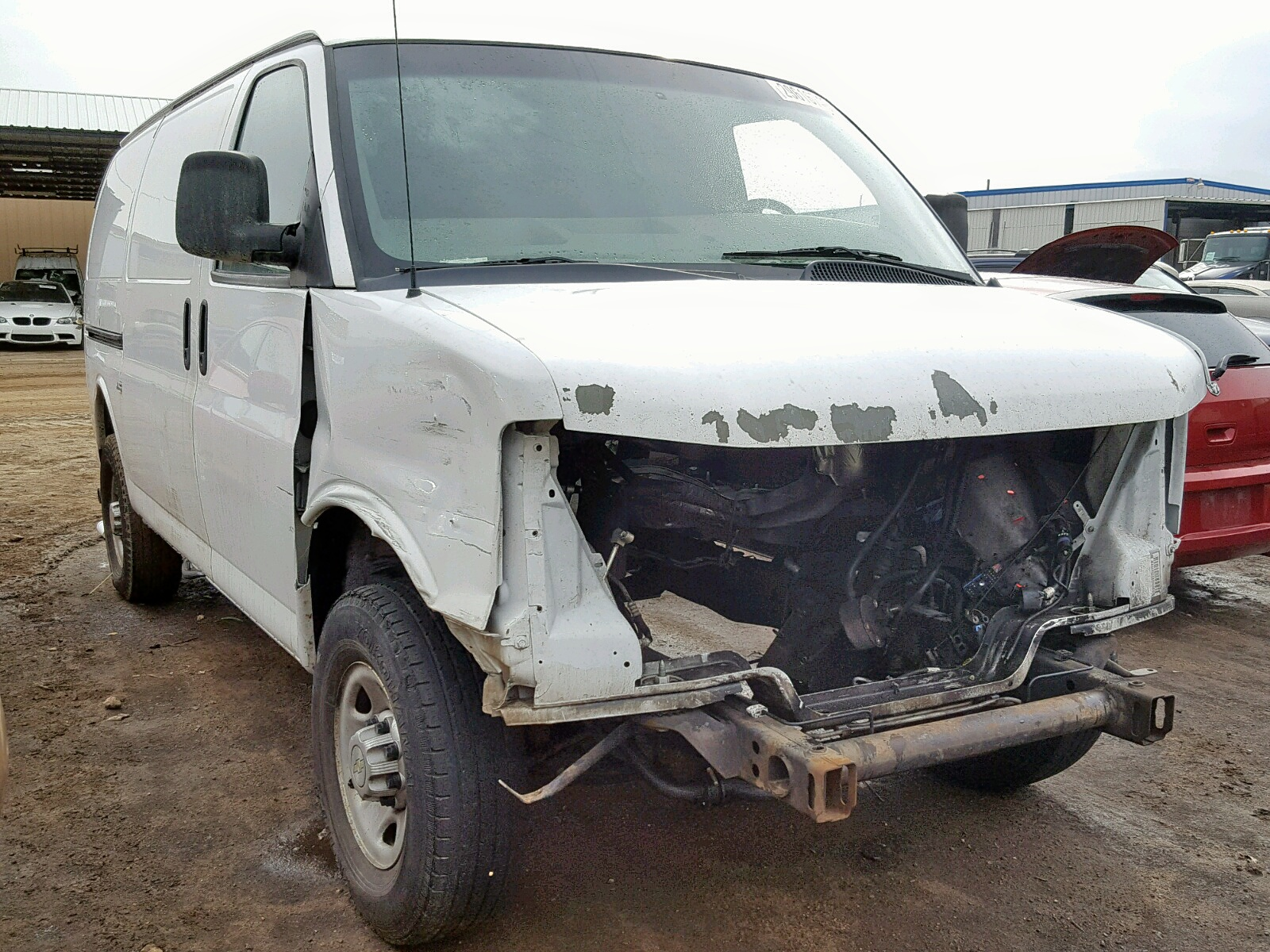 Salvage 2010 Chevrolet EXPRESS G2 for sale