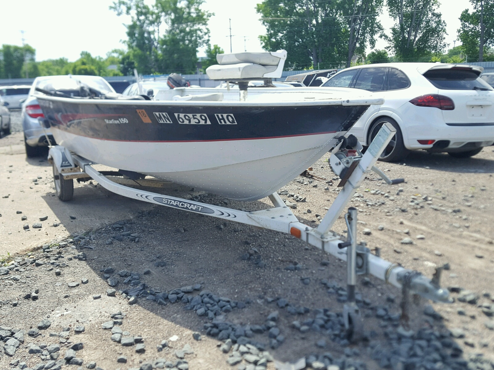 Salvage 2000 Star MARINE TRAILER for sale