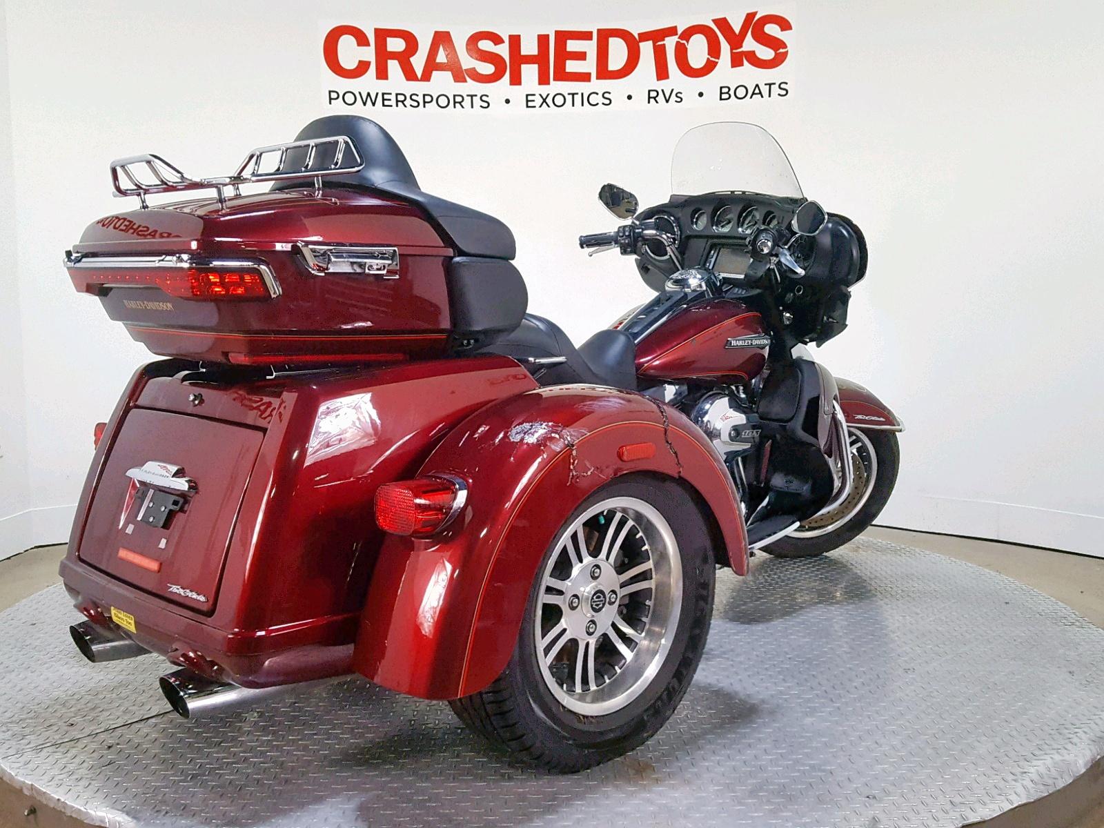 2016 Harley Davidson Flhtcutg: 2016 Harley-Davidson Flhtcutg T For Sale At Copart Dallas