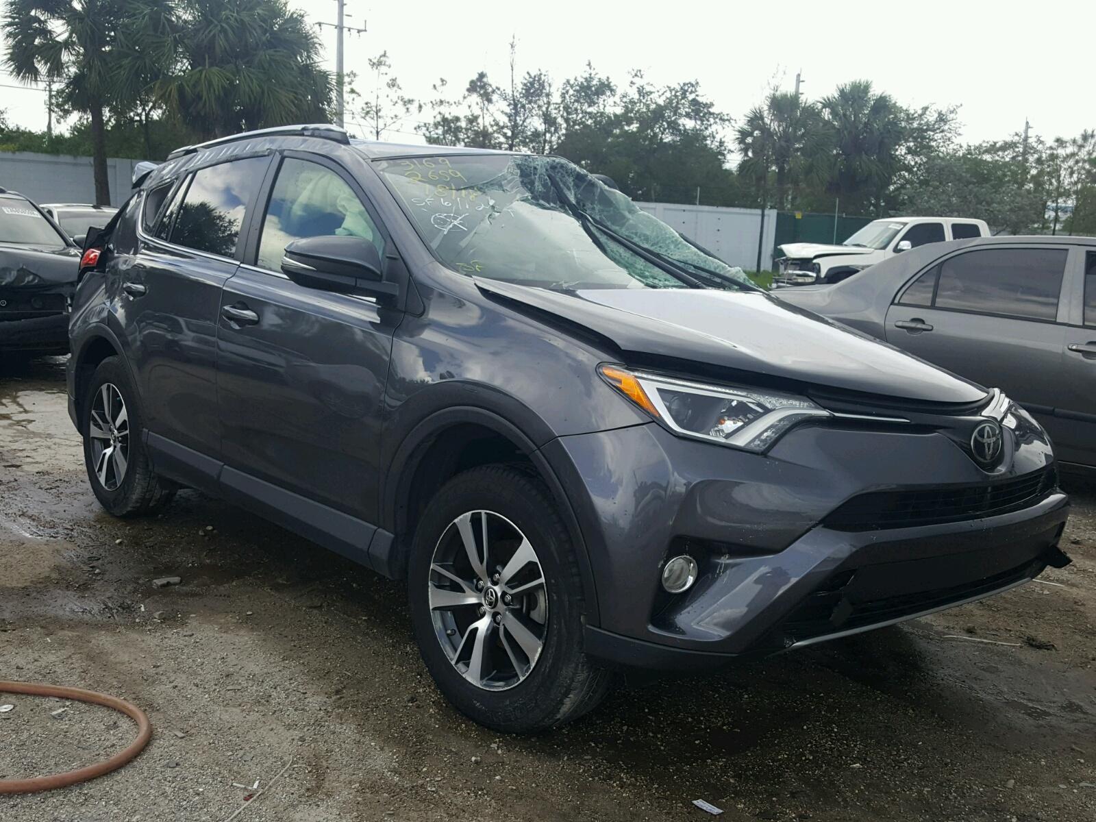 2017 Toyota Rav4 XLE for sale at Copart West Palm Beach FL Lot