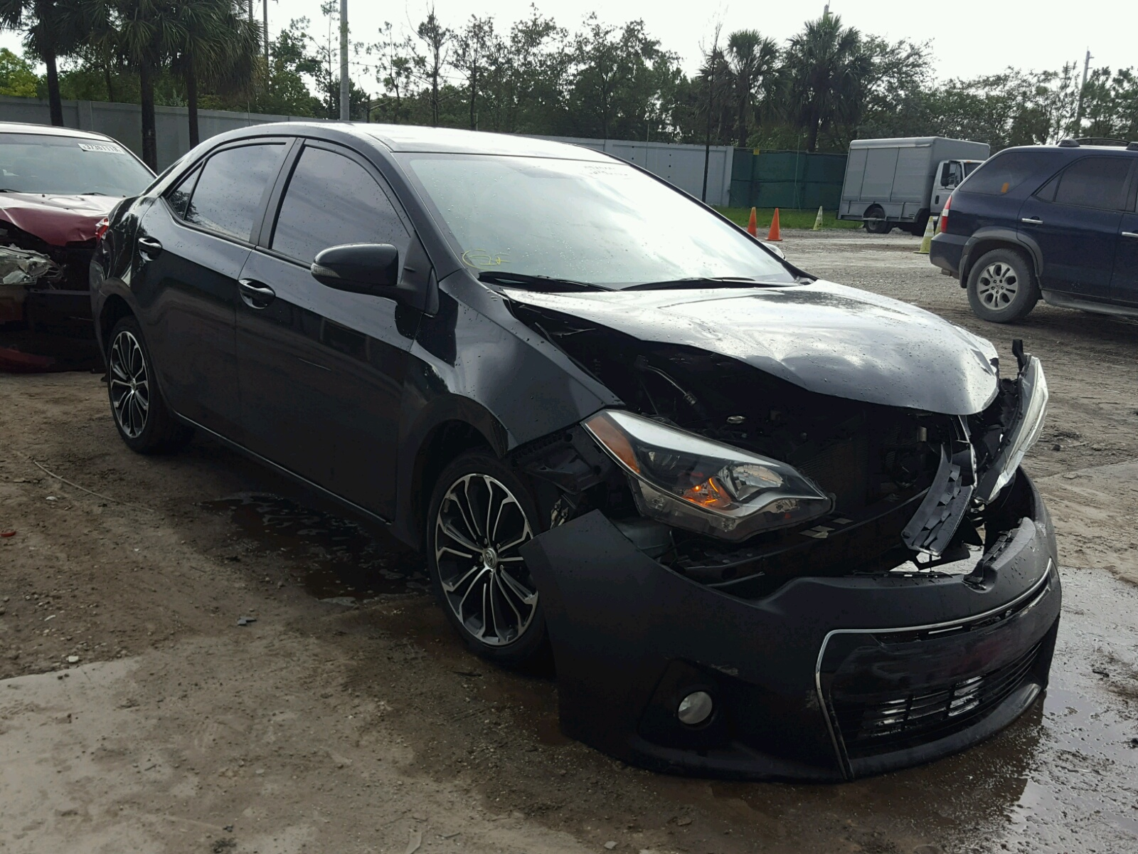 2015 Toyota Corolla L for sale at Copart West Palm Beach FL Lot