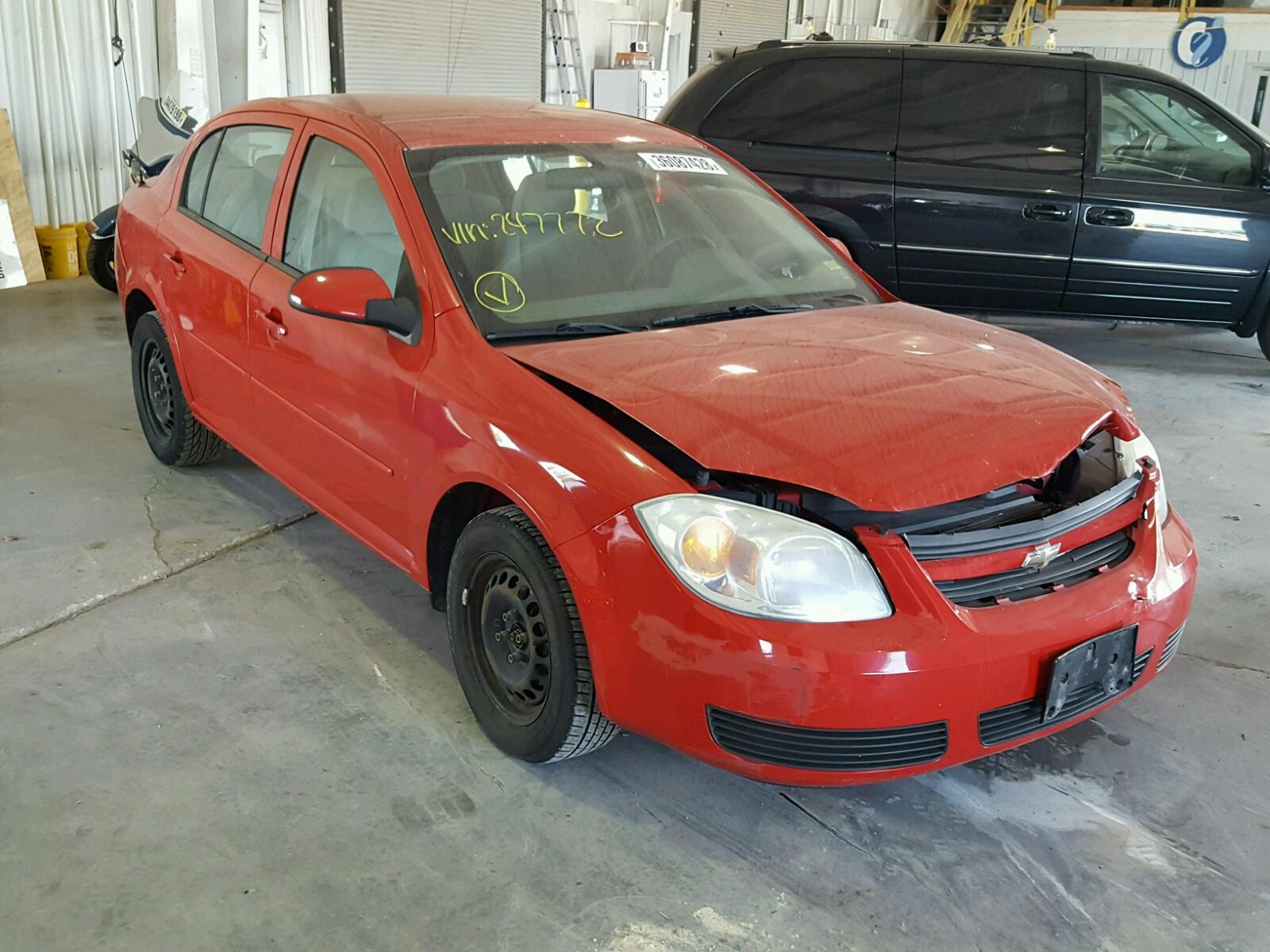 Salvage 2007 Chevrolet COBALT LT for sale