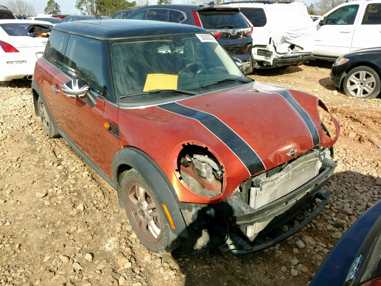 Salvage 2013 Mini COOPER for sale