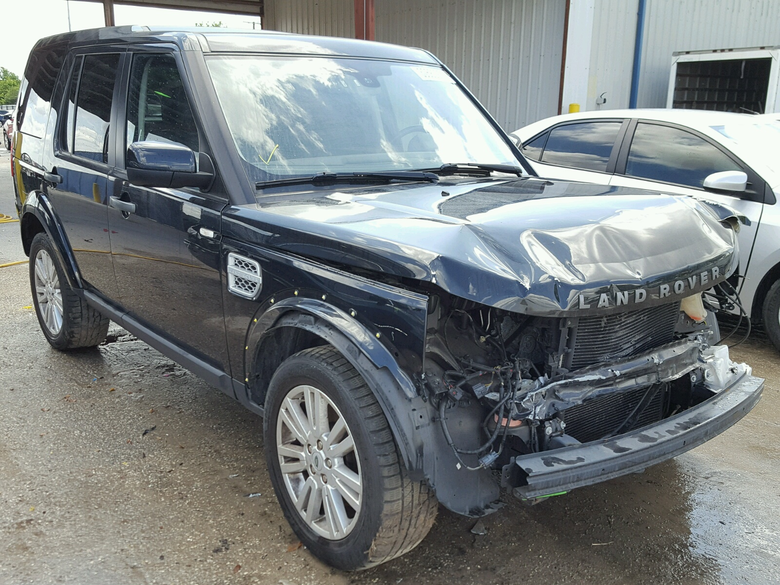 boston online hse landrover north carfinder auctions on copart of auto certificate bddc ma en silver for lot rover land title in sale