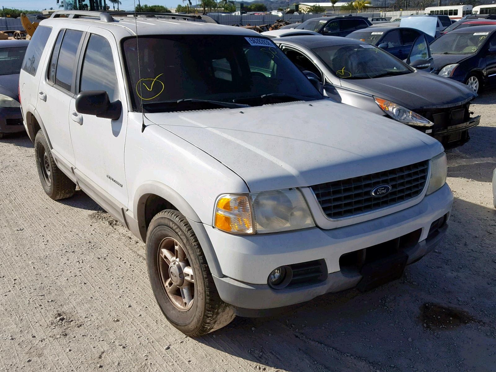 dcc8f09d78 2002 Ford Explorer X 4.6L 8 for Sale CA - Van Nuys VIN  1FMZU63W52ZC09114