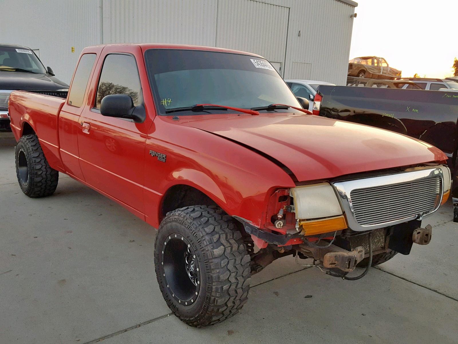 1998 Ford Ranger Sup 3 0l 6 For Ca So Sacramento Vin 1ftyr14u4wpb53041