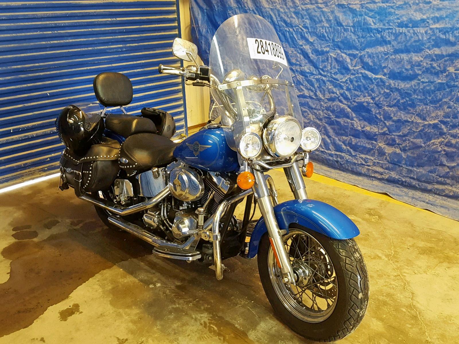 Salvage 2001 Harley-Davidson FLSTCI for sale