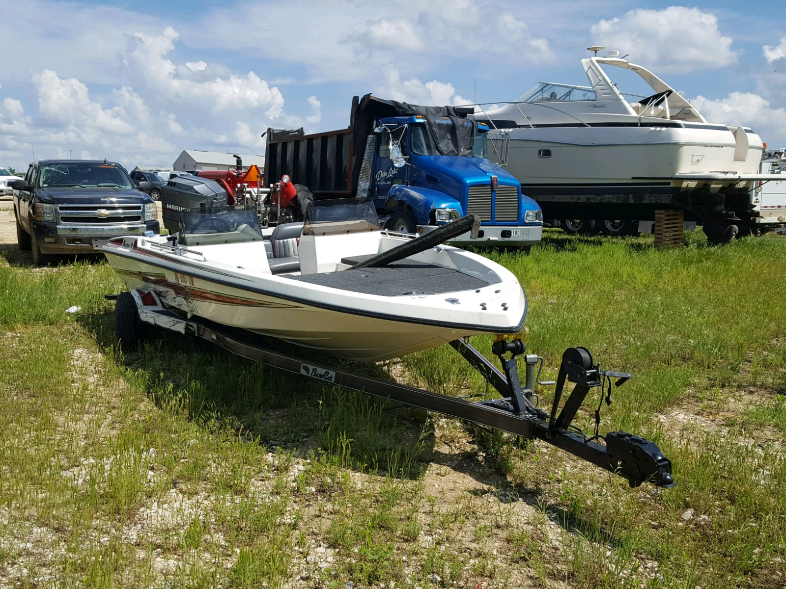 Salvage 1993 Basc BOAT for sale
